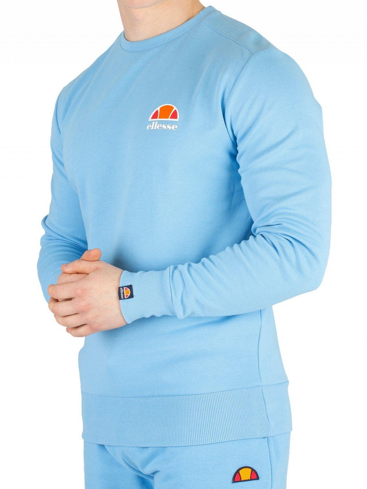 d6d65e240b Ellesse Light Blue Anguilla Sweatshirt in Blue for Men - Lyst