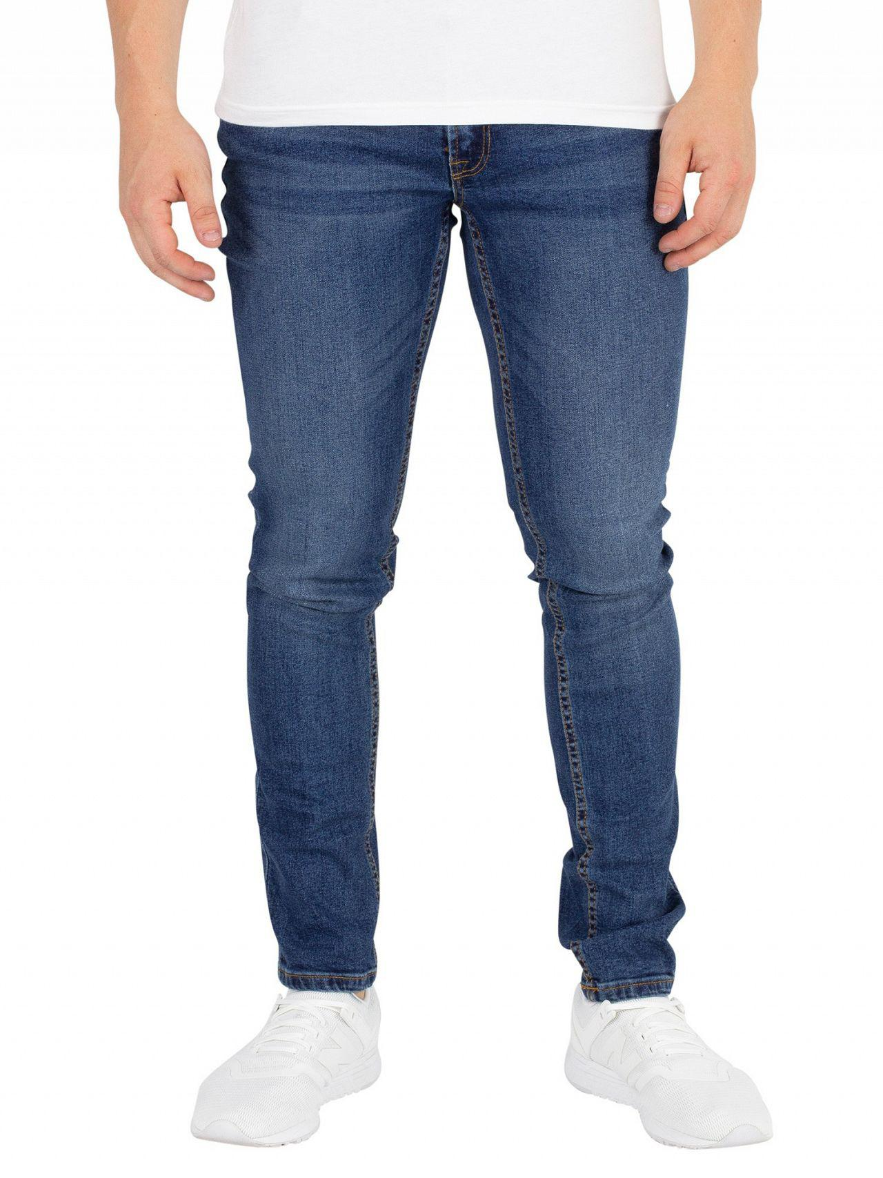 Blue Jack /& Jones Men/'s Liam Original 005 Skinny Jeans