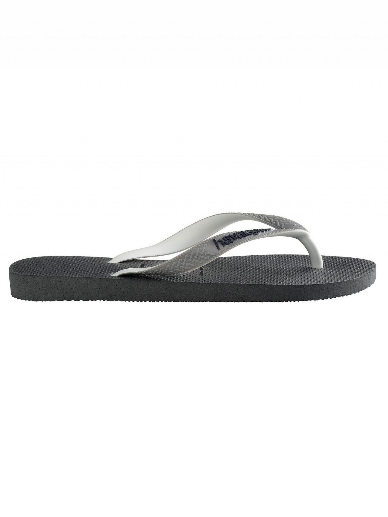 dff61212a6fa4 Havaianas - Gray Graphite Grey Top Mix Flip Flops for Men - Lyst. View  fullscreen