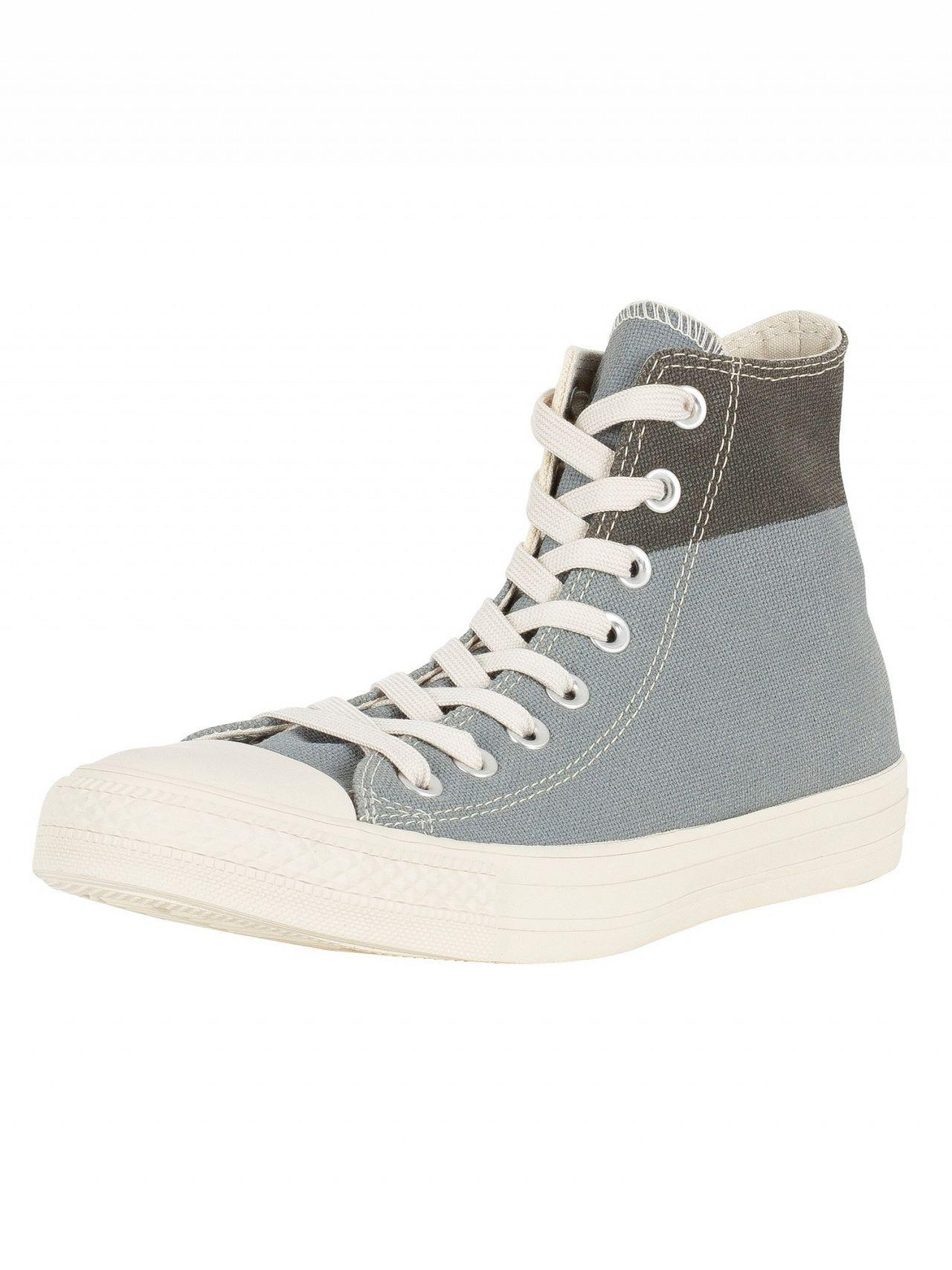 b79a47c1e2d Lyst - Converse Jute cool Grey black Ct Allstar Americana Block Hi ...