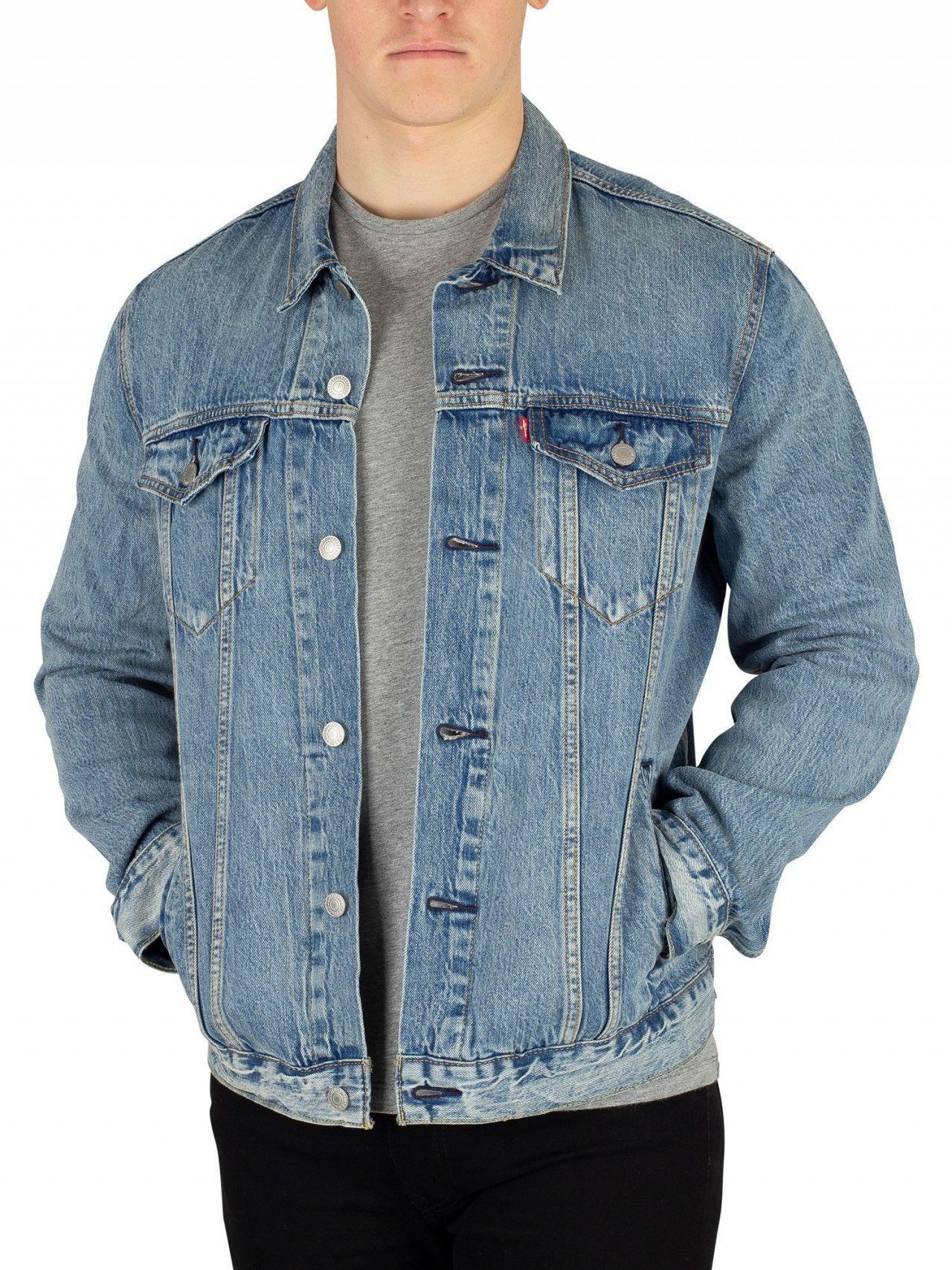 4203808e1100 Lyst - Levi s Killebrew The Trucker Jacket in Blue for Men