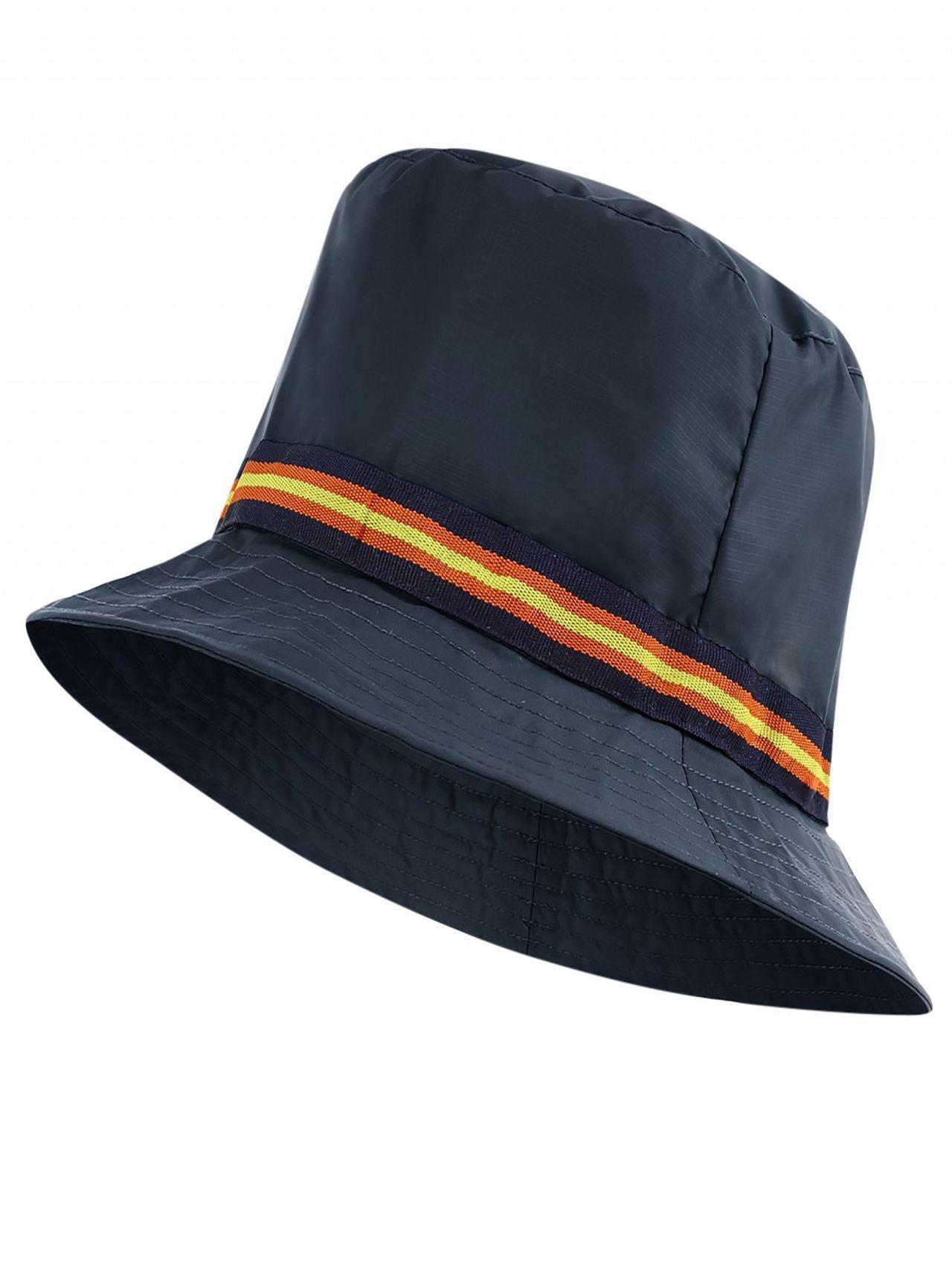 abebf24c3a2 K-Way Blue Depht Le Vrai 3.0 Pascal Tape Hat in Blue for Men - Lyst