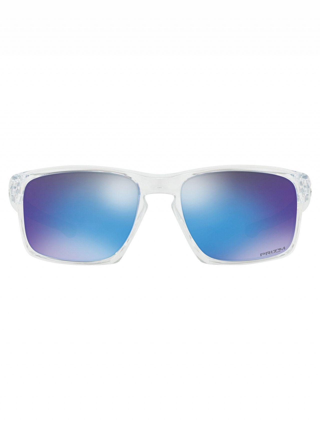 prizm lunettes path blanc radar oakley polished polis iridium sunglasses ev white sapphire