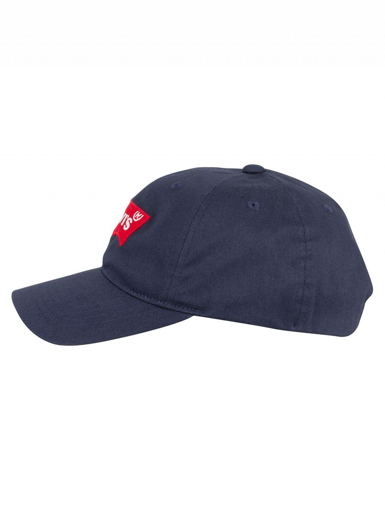 854e0f8e Levi's Navy Batwing Flex Fit Baseball Cap in Blue for Men - Lyst