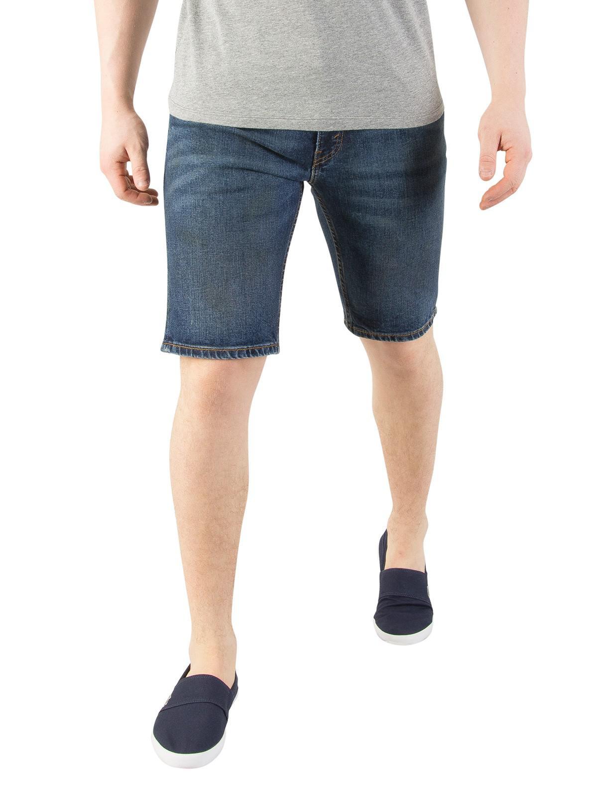 River Island Mens Levis dark Blue 511 slim fit denim shorts Levi's jc2BNp