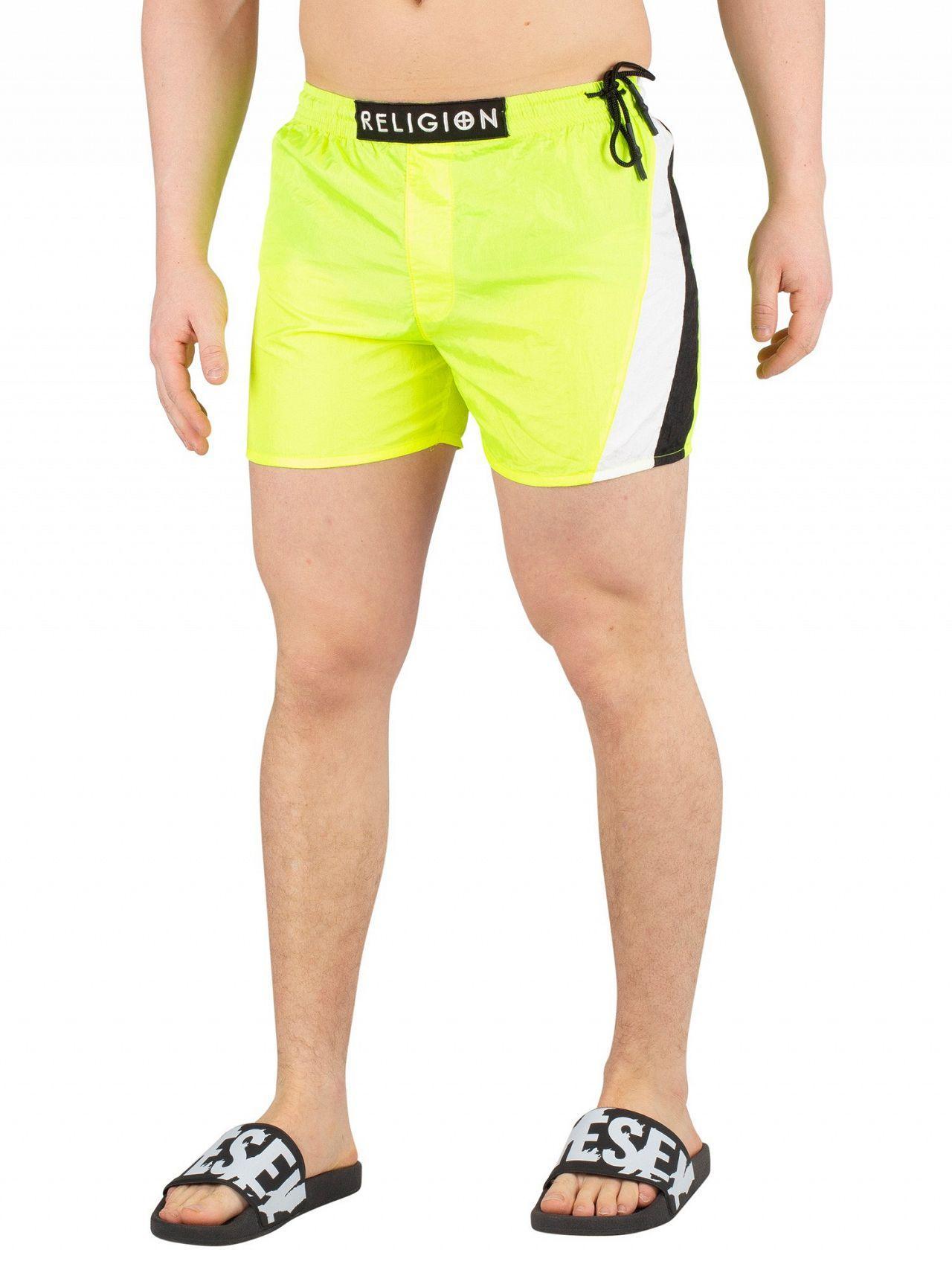 db18204ea1490 ... Swimshorts, Yellow Men's In Yellow for Men - Lyst. View fullscreen