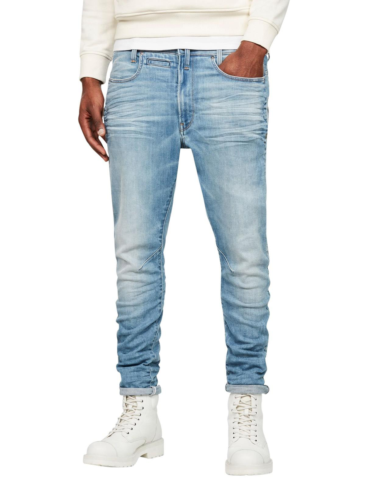 6c4d822b7f3a G-Star RAW Light Indigo Aged D- Staq 3d Super Slim Jeans in Blue for ...
