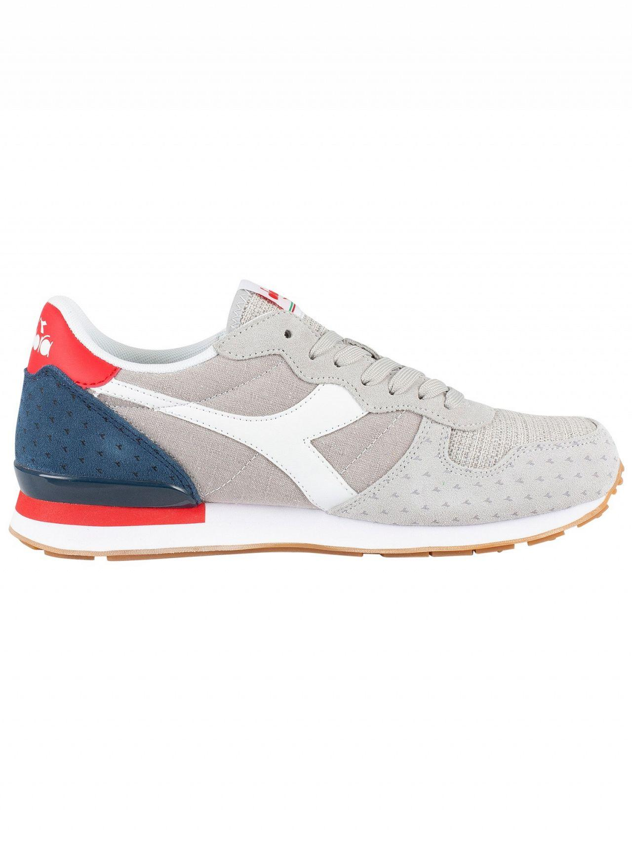 b14bd9c2 Lyst - Diadora White/blue Denim Camaro Summer Trainers in White for Men
