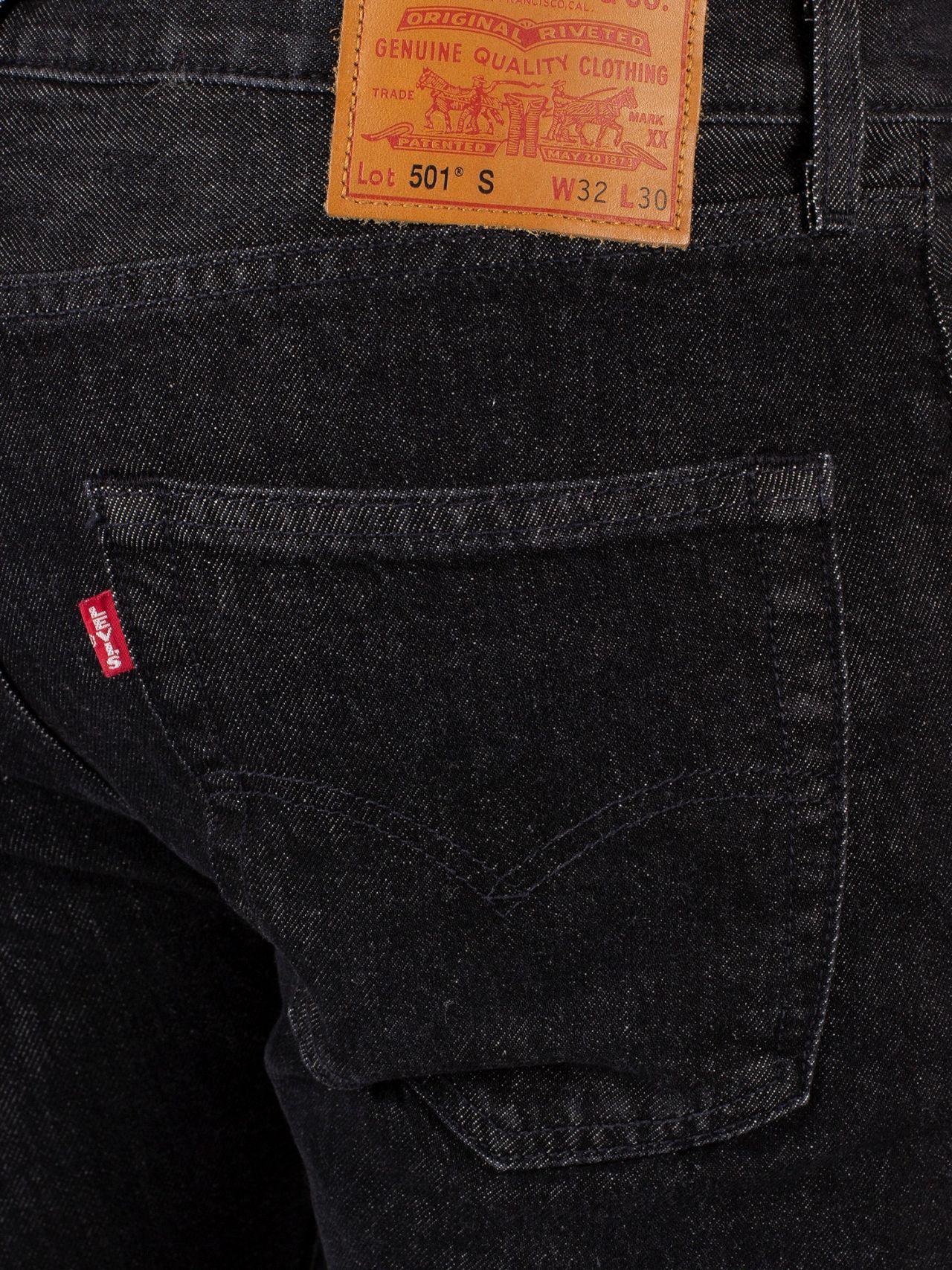 Warp Lyst 501 In Skinny Levi's Men For Jeans Black URSz7