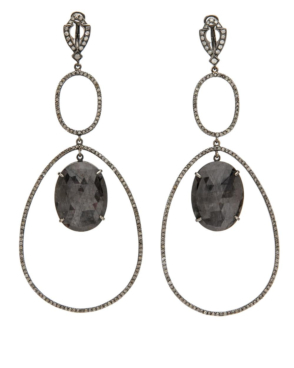Loree Rodkin Polina Earrings in Metallics qY3TtWB2U