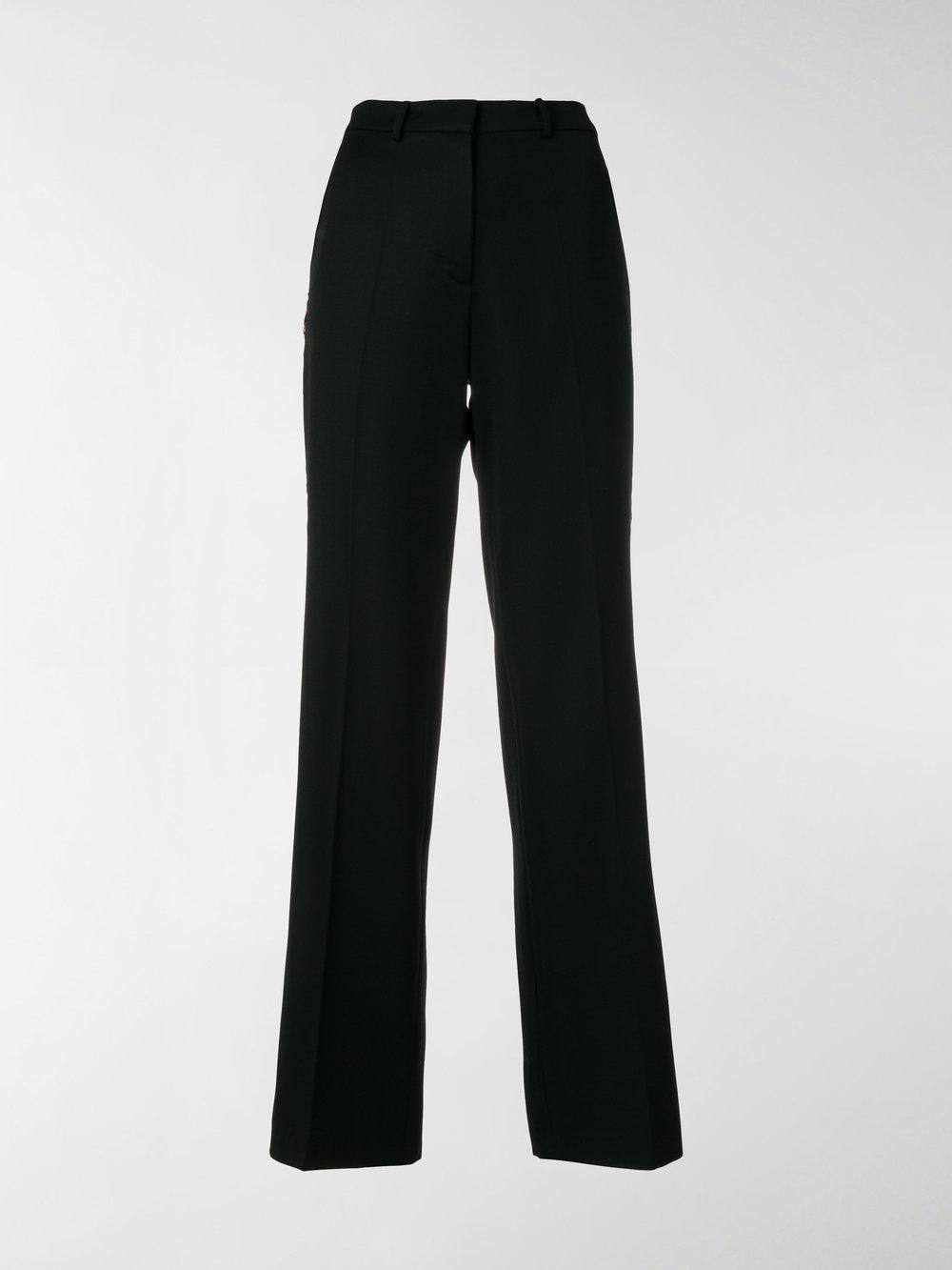 bow-tied tailored trousers - Black Ports 1961 9OkAm