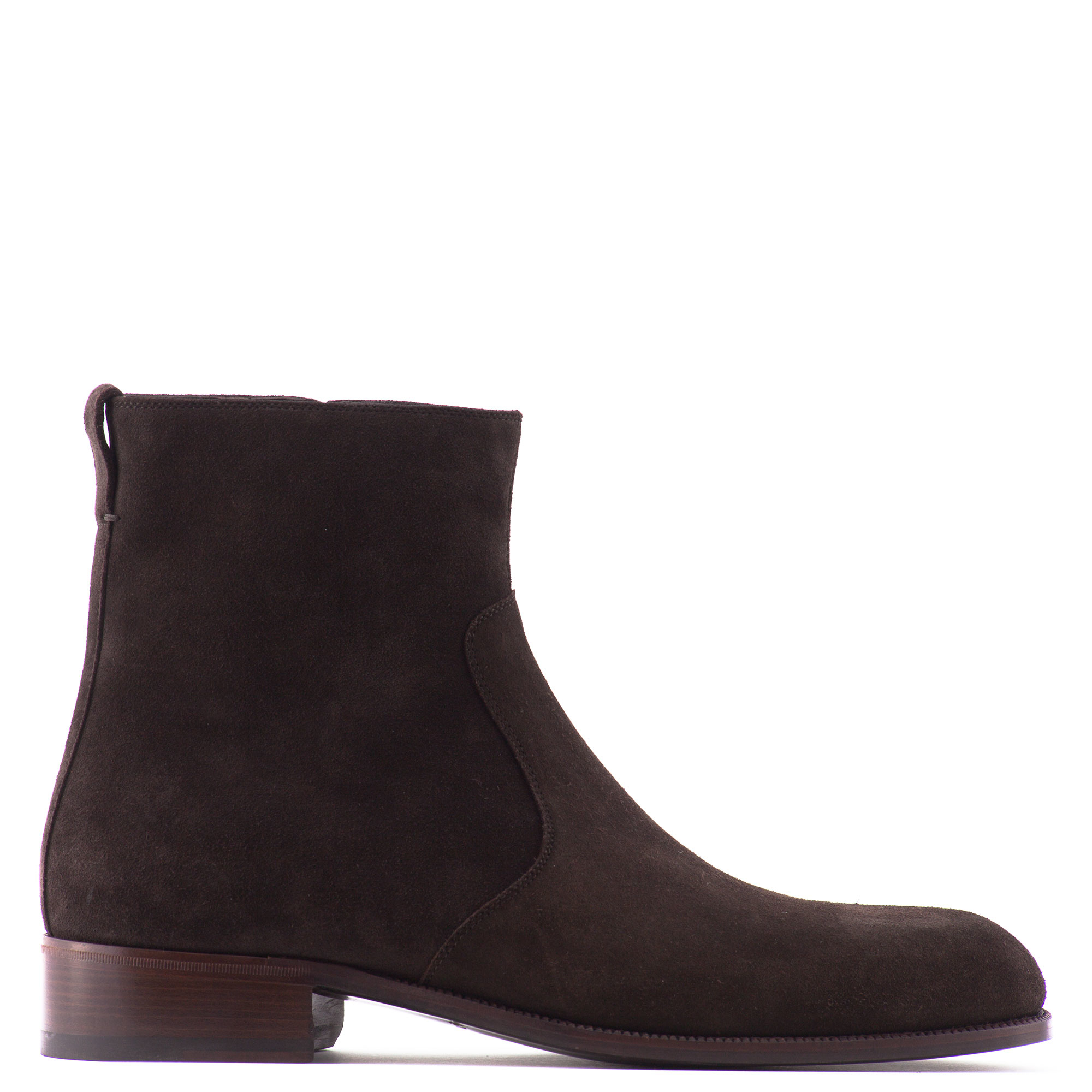 tom ford suede ankle boots in brown lyst