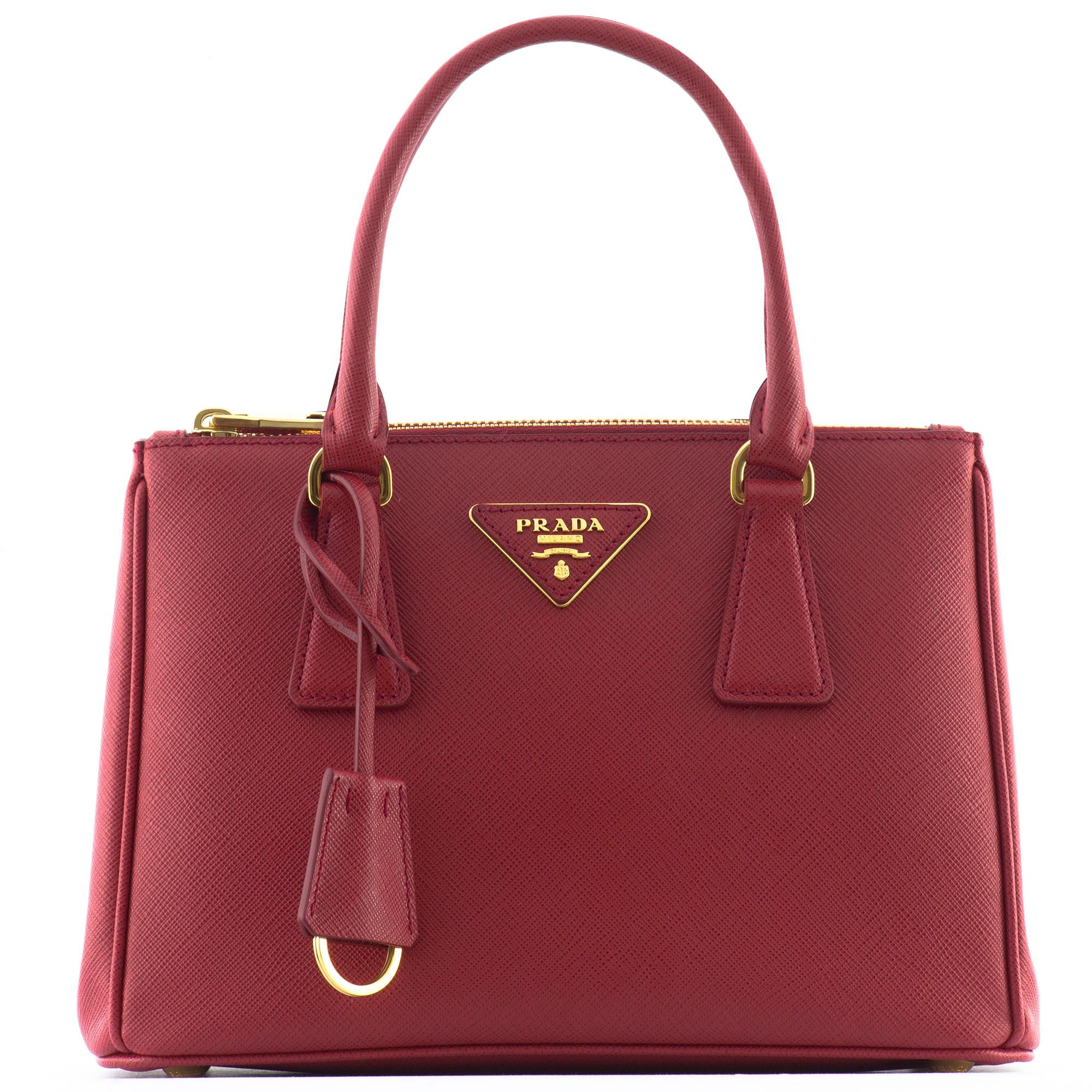 cc19c9e2e62237 Galleria Small Leather Tote Handbag By Prada | Stanford Center for ...