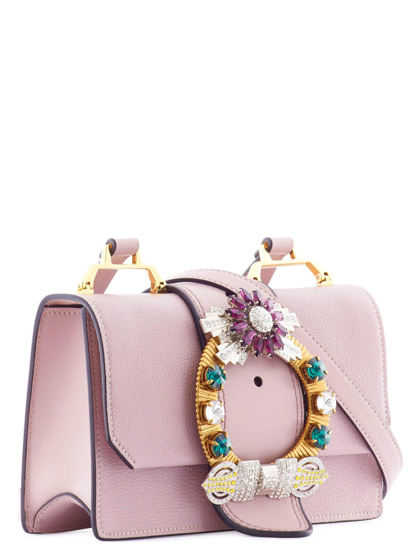 6e606ea87d5 Miu Miu Shoulder Pink Bag