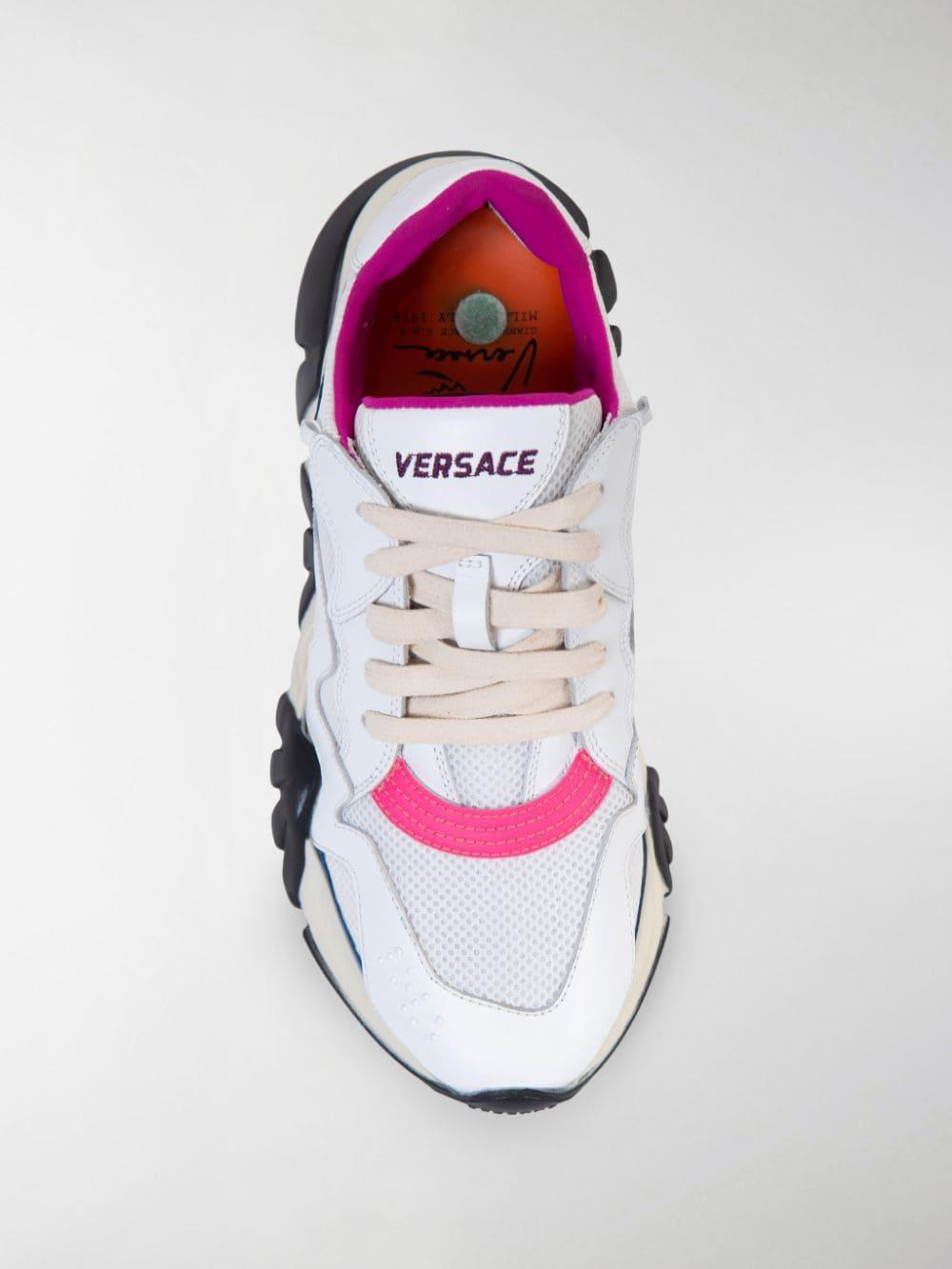 Versace Squalo Sneakers Lyst