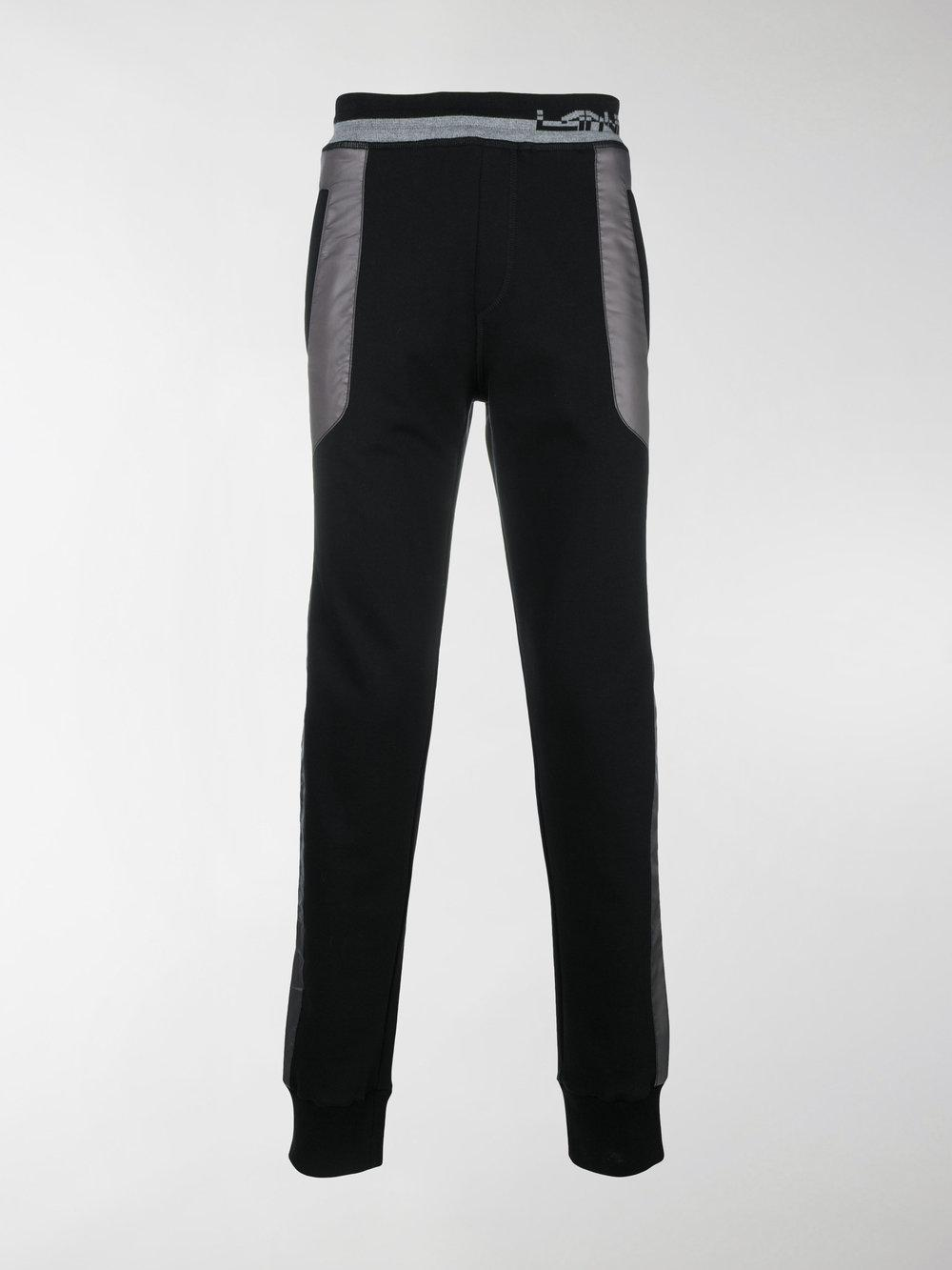 colour block track pants - Black Lanvin Free Shipping 2018 Buy Authentic Online paU6qywgho
