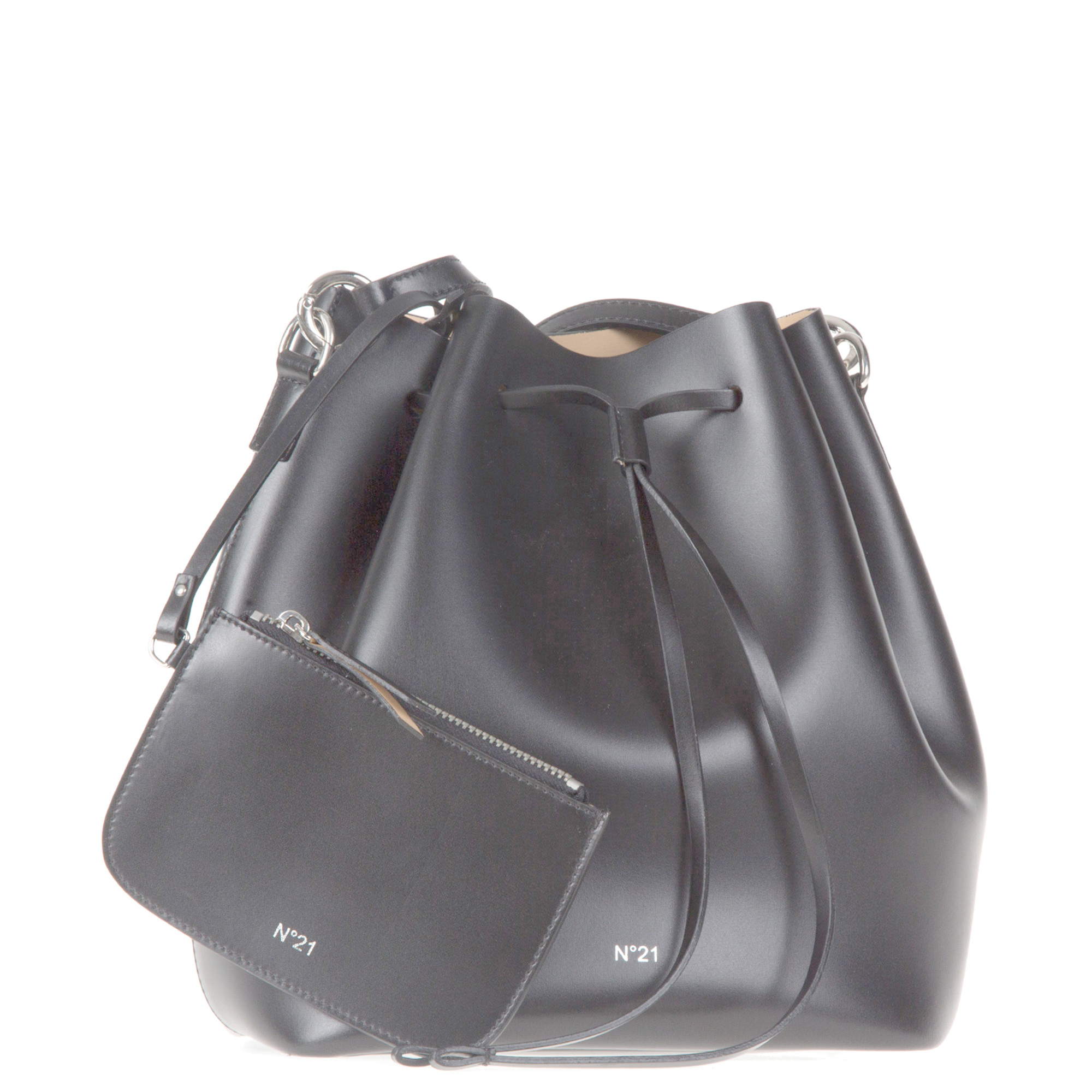 Lyst - N°21 Bucket Bag in Black 65def6a8330e4