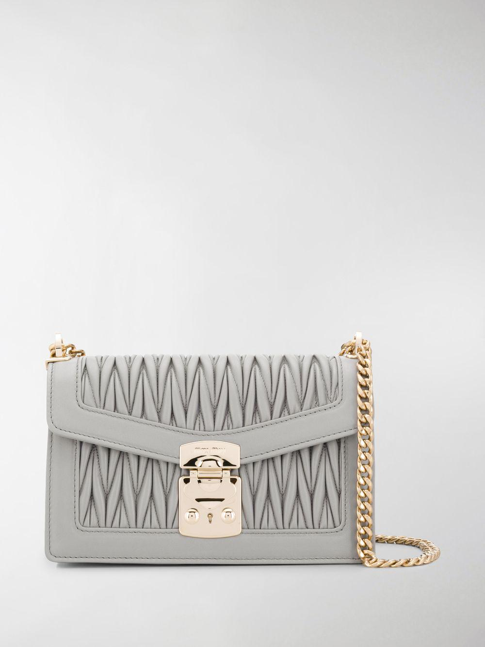 3b5753c46a0b Miu confidential chain bag in gray lyst jpg 1000x1333 Gray miu bag