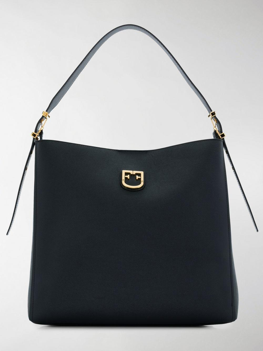 e826f05bd22c Lyst - Furla Belvedere Hobo Tote Bag in Black