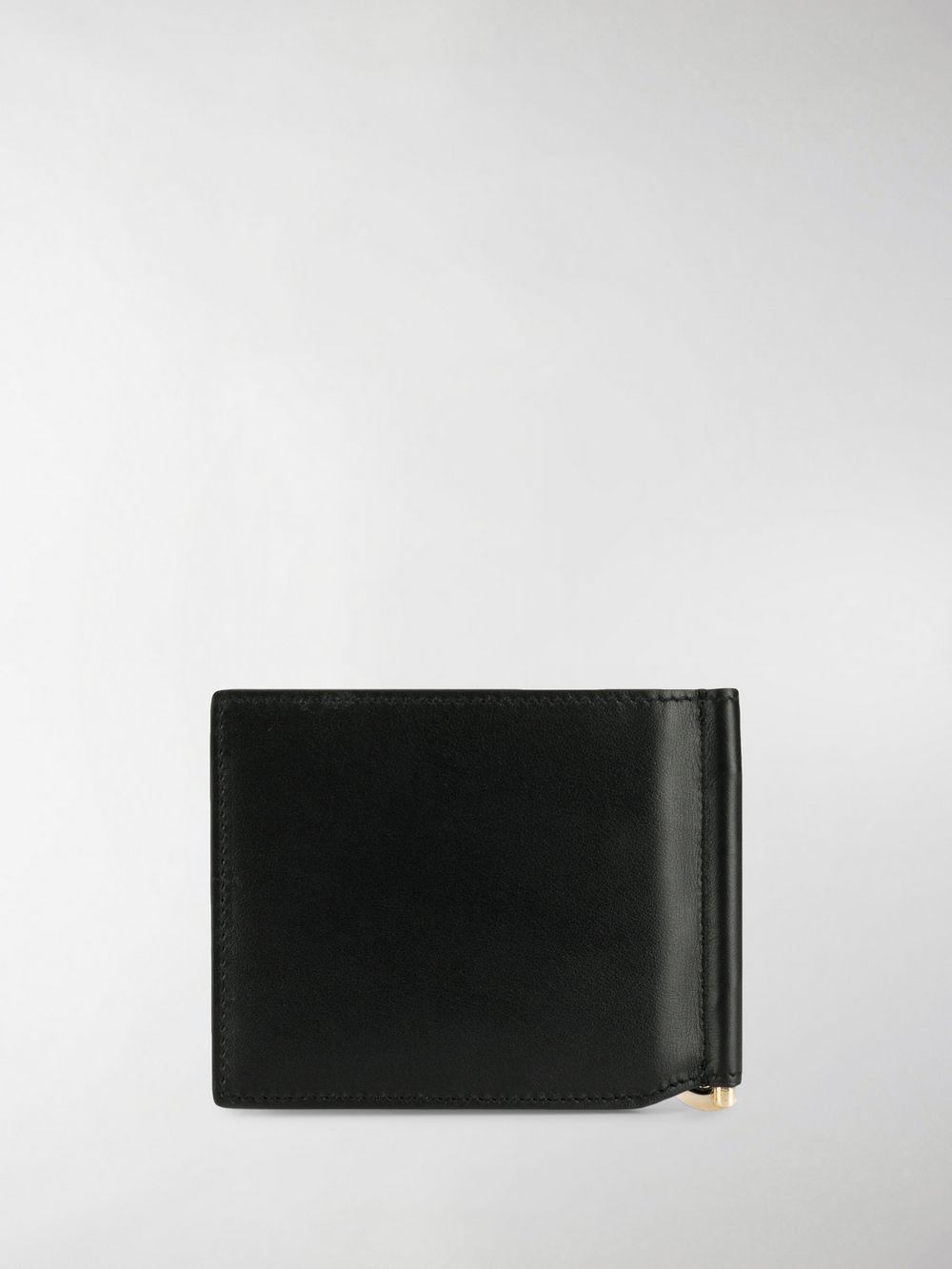 2fd02adf46 Lyst - Dolce & Gabbana Logo Print Wallet in Black for Men