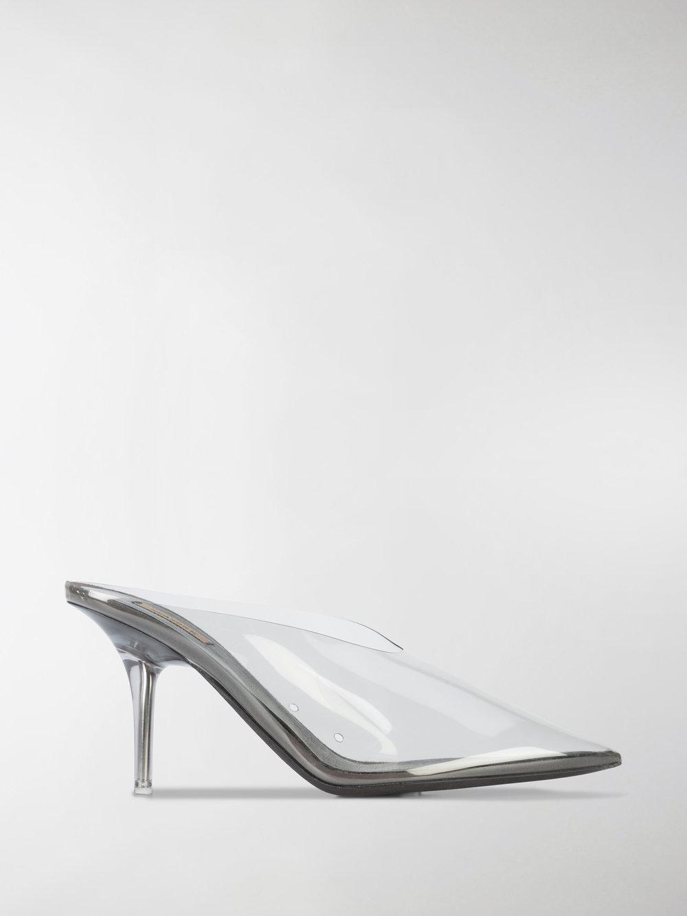ca308a43543a0 Lyst - Yeezy Season 6 Pvc Mules in White