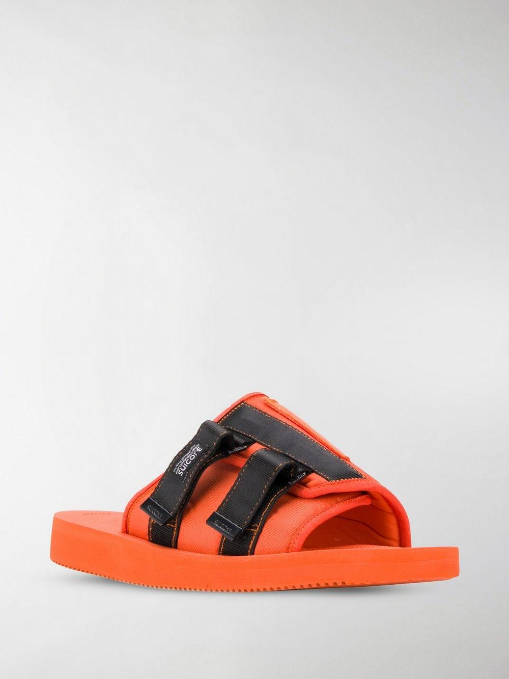 7651e95572db Lyst - Palm Angels X Suicoke Patch Slider in Orange for Men - Save 30%