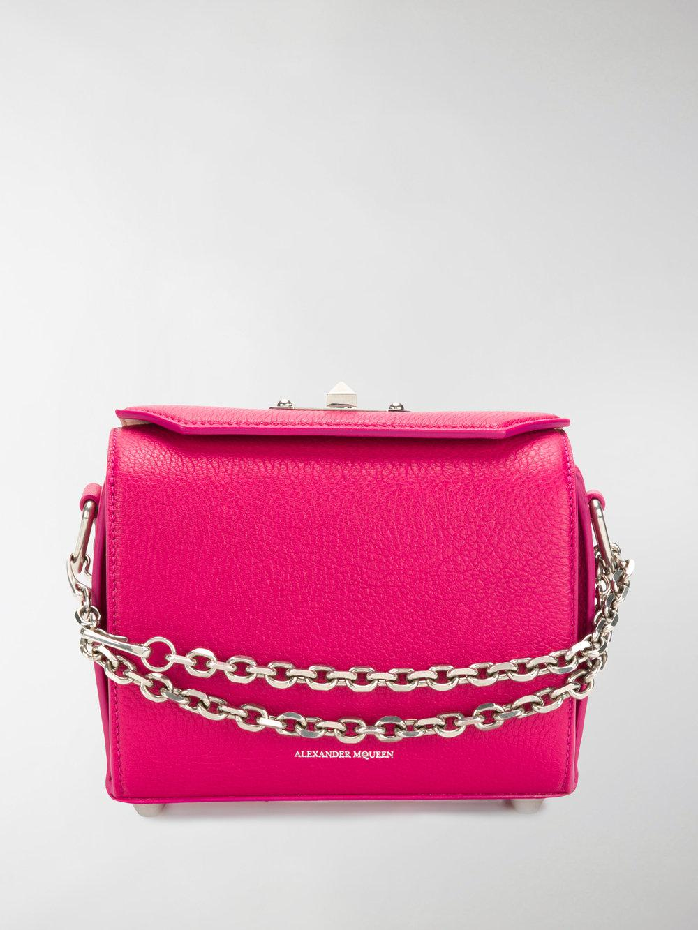 Box shoulder bag - Pink & Purple Alexander McQueen JZoMw