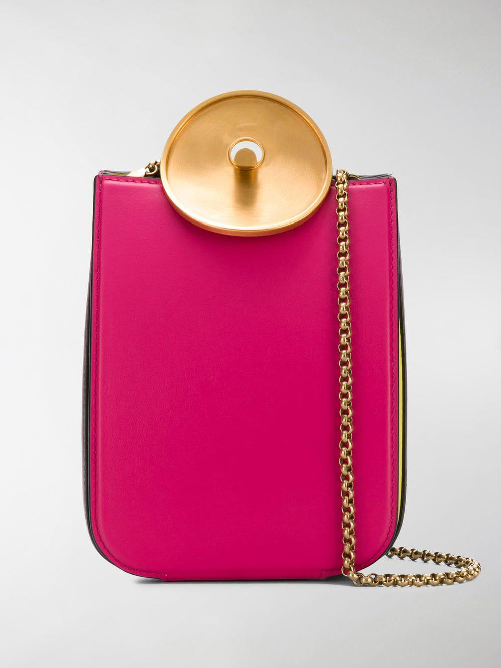 fd44b04cc67 Lyst - Marni Monile Crossbody Bag in Pink