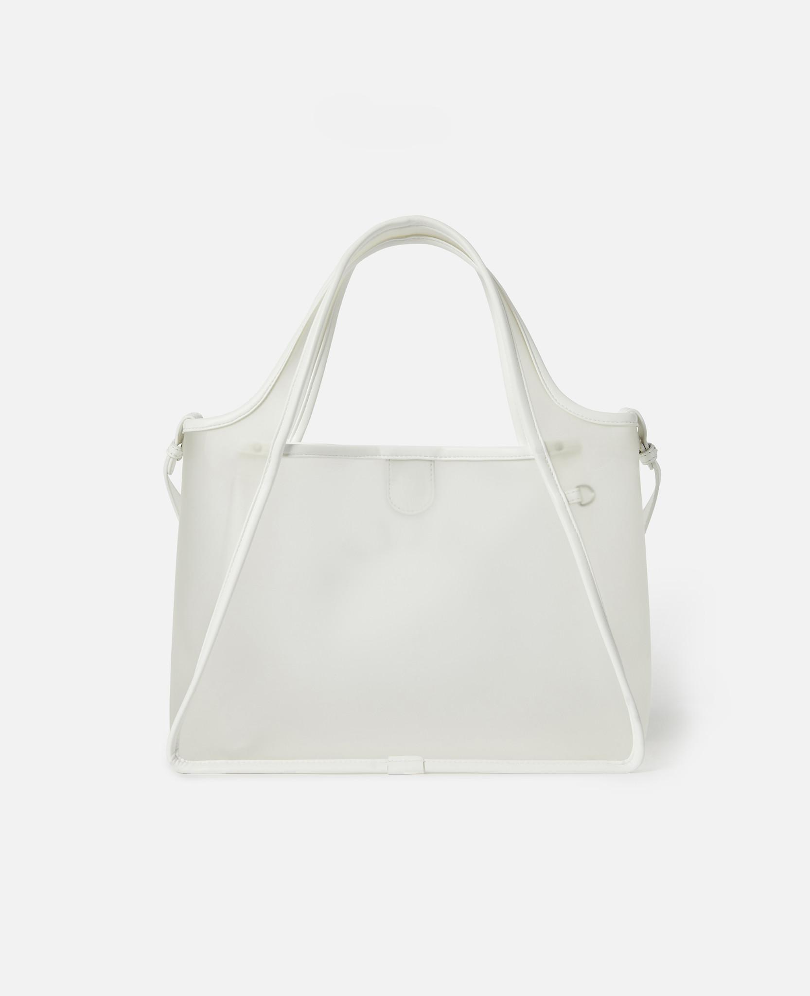 480d19788dc87 Lyst - Stella McCartney Stella Logo Crossbody Bag in White