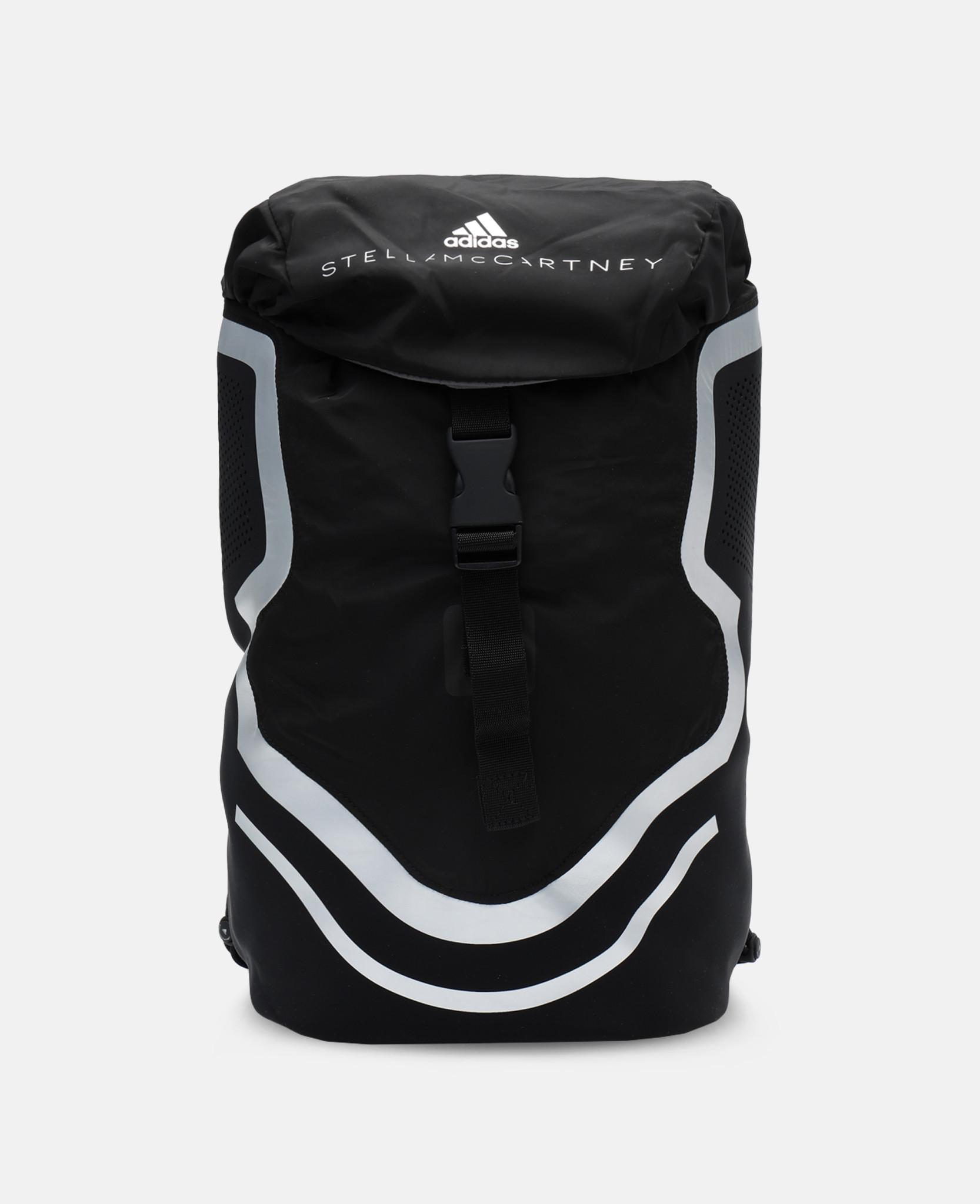 690acc8bdbfa adidas By Stella McCartney Black Running Backpack in Black - Lyst