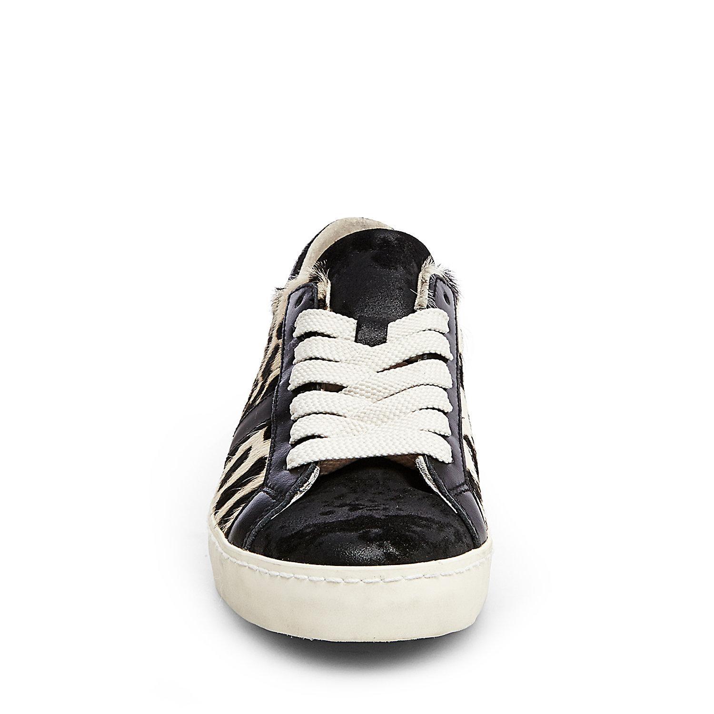 Steve Madden Furry Black Shoes