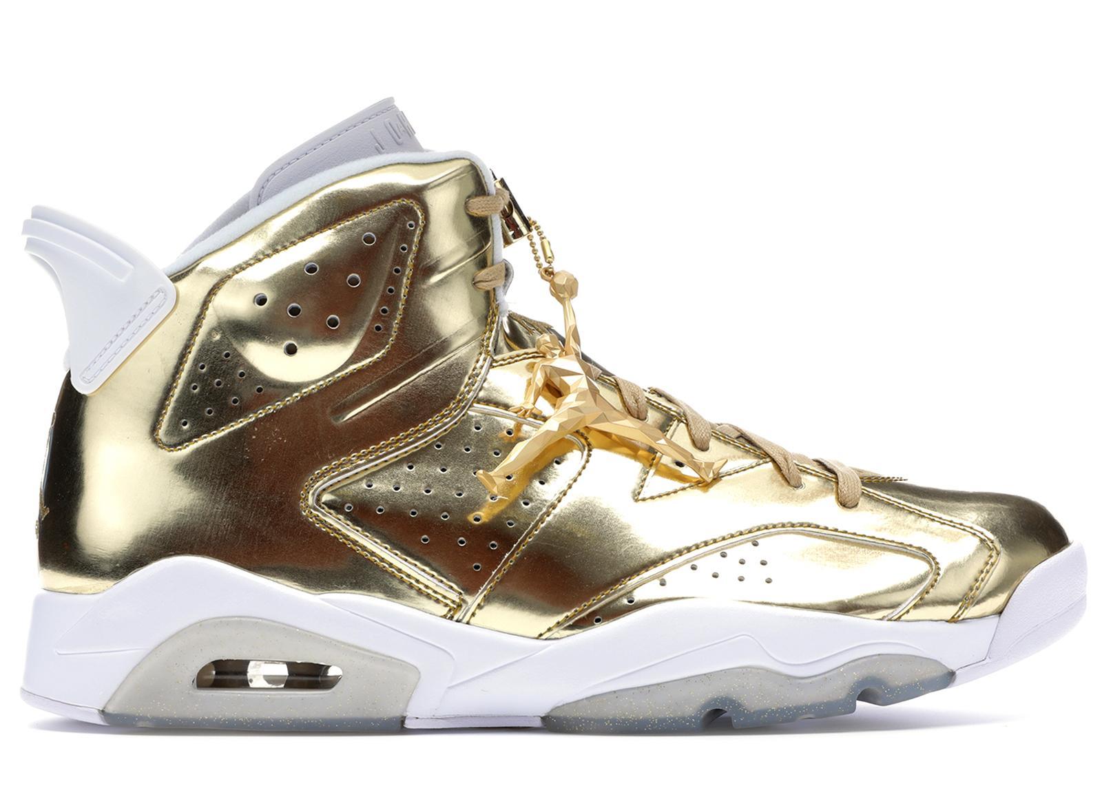 Lyst - Nike 6 Retro Pinnacle Metallic Gold in Metallic for Men 1e3e2c853e46
