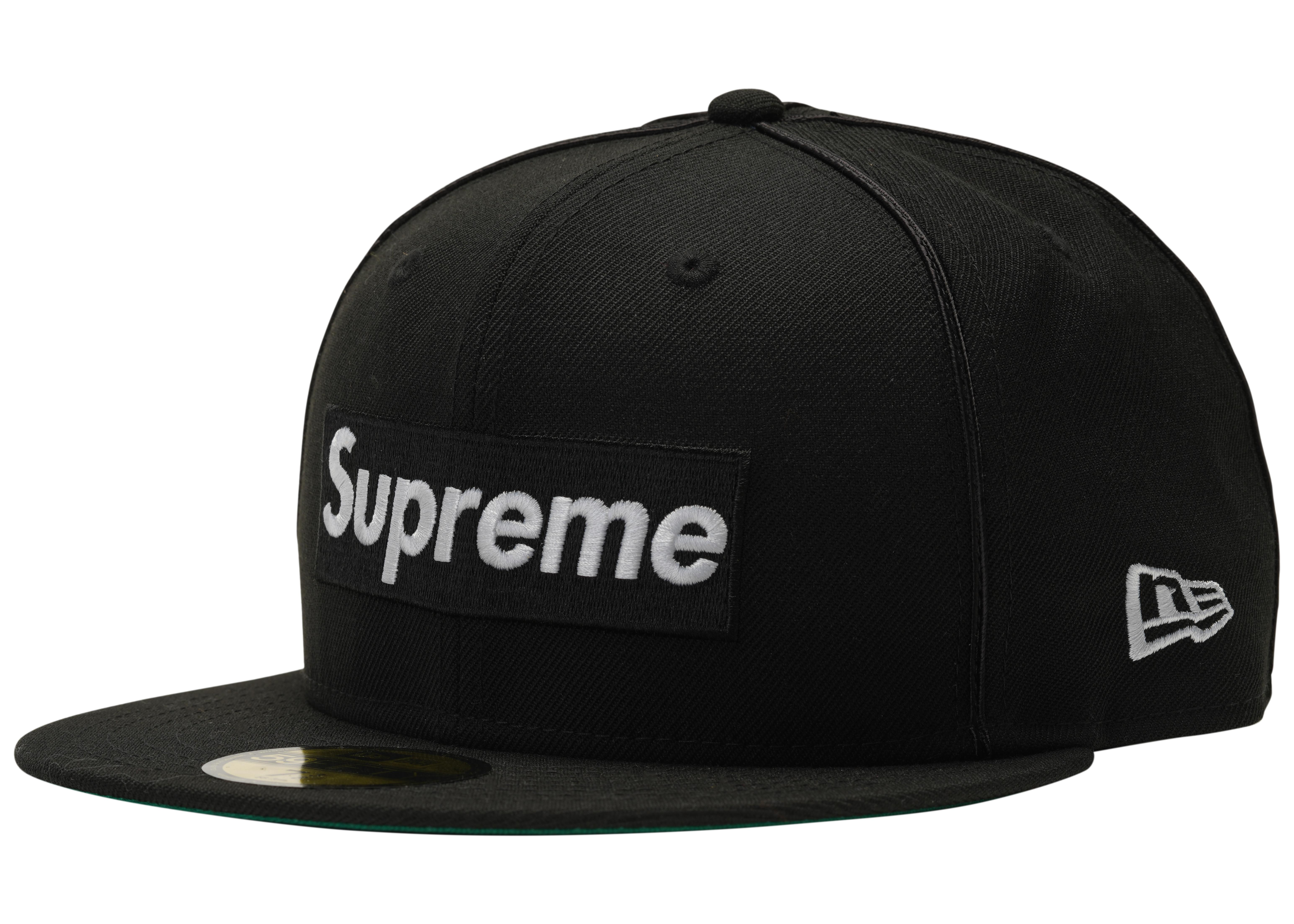 Lyst - Supreme Piping Box Logo New Era Black in Black for Men 6268ef63e0f