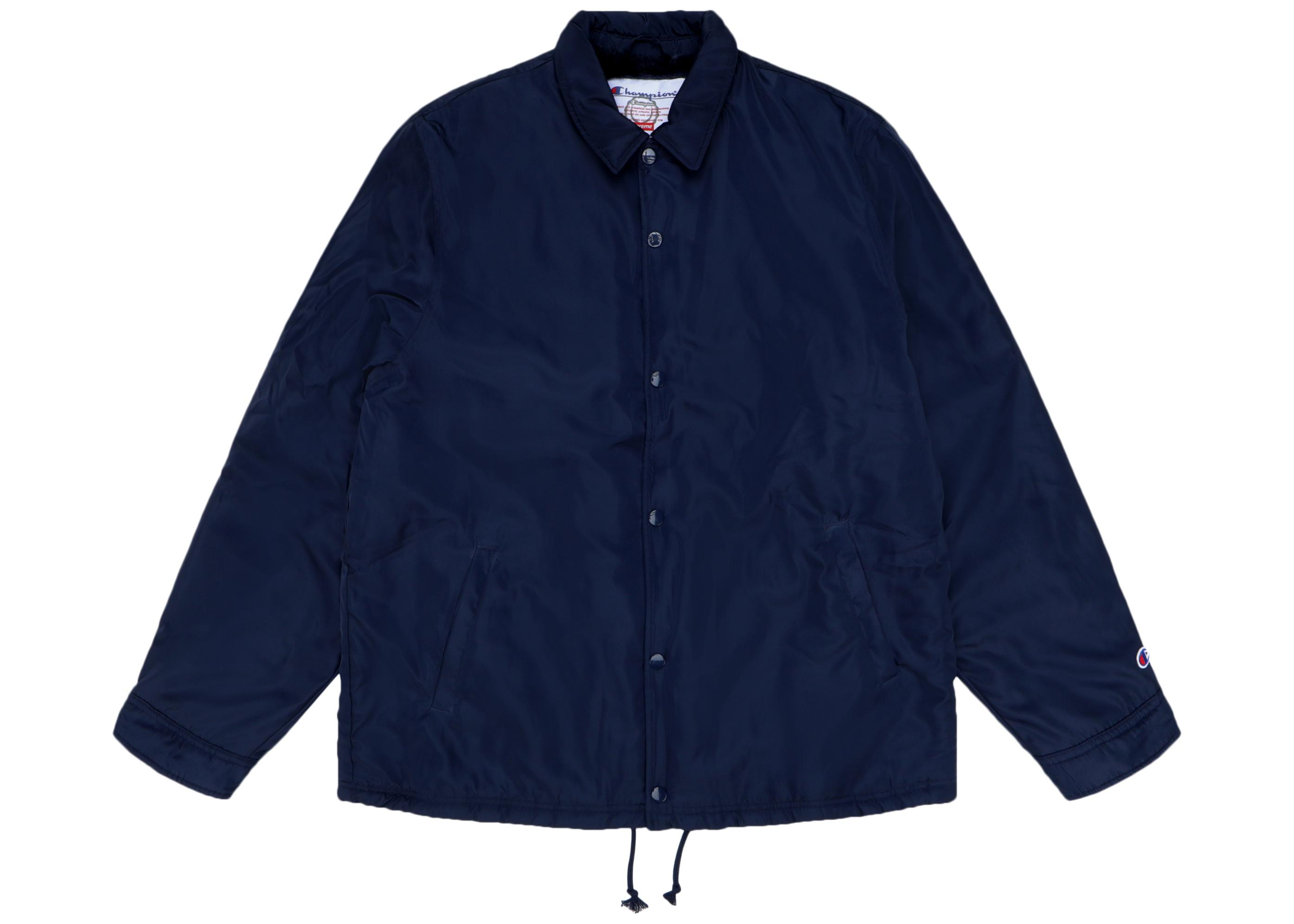 4d276e28 Lyst - Supreme Champion Label Coaches Jacket Navy in Blue for Men