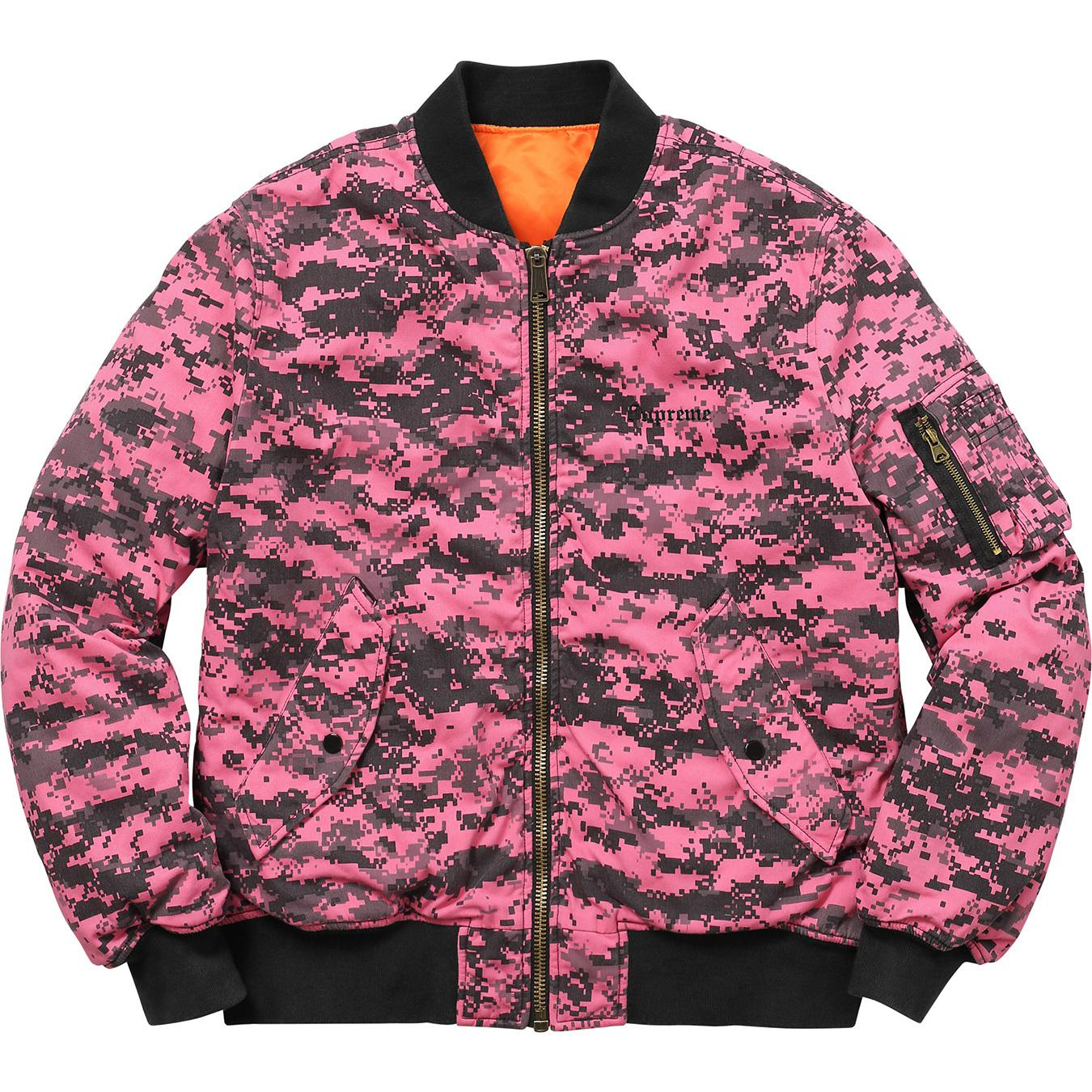 fa2a6546 Lyst - Supreme Digi Camo Ma-1 Pink Digi Camo in Pink for Men - Save 66%