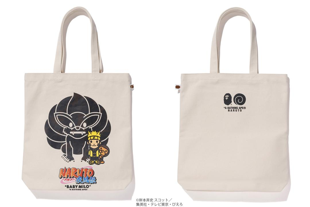 8369bc66 A Bathing Ape X Naruto Tote Bag #1 White in White - Lyst