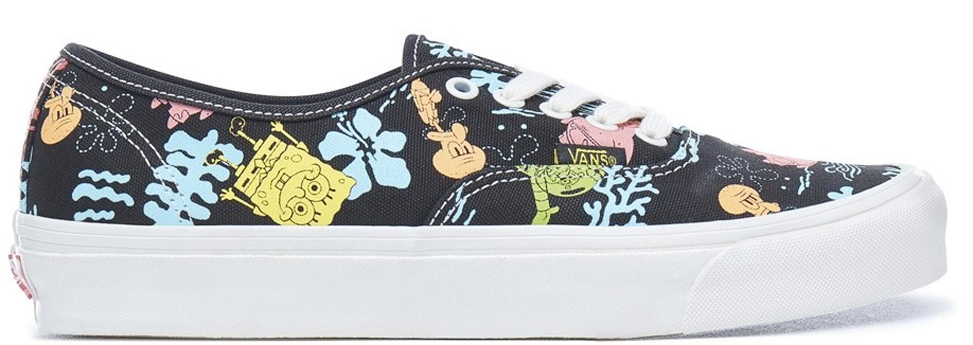71ac8fb2efa34d Vans - Authentic Spongebob Aloha Blue for Men - Lyst. View fullscreen