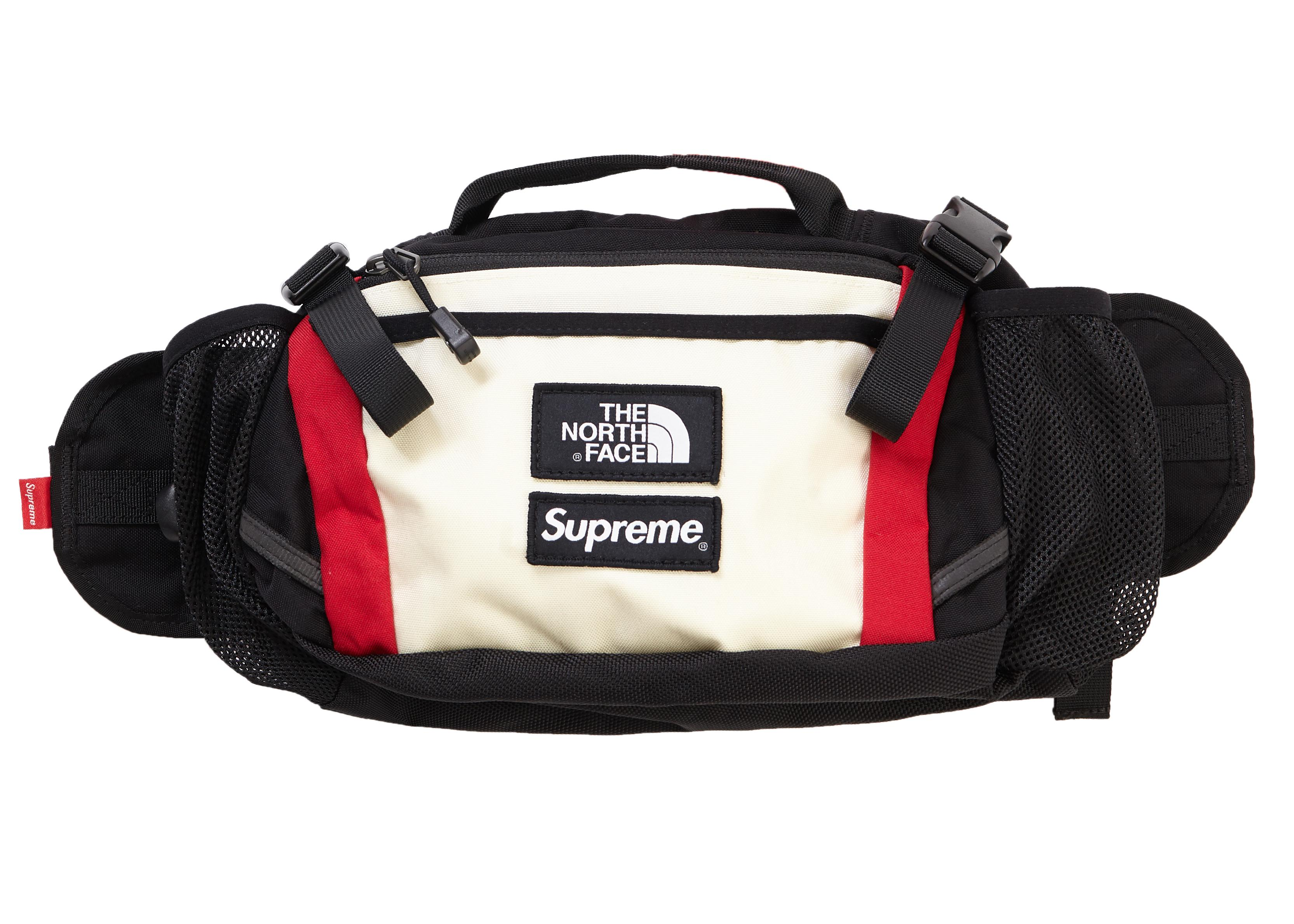 premium selection 39c7a 7ea0a Supreme - The North Face Expedition Waist Bag White for Men - Lyst. View  fullscreen