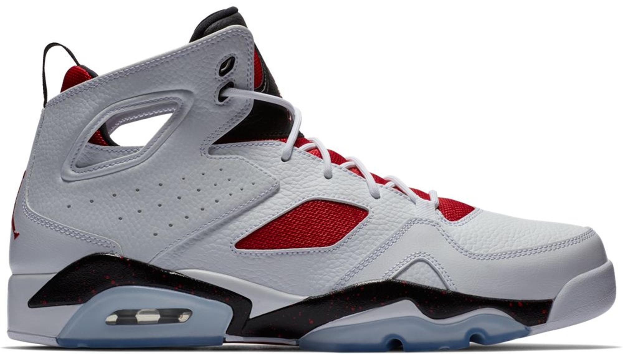 7caf3634 Lyst - Nike Flightclub 91 White Black Gym Red in Red for Men