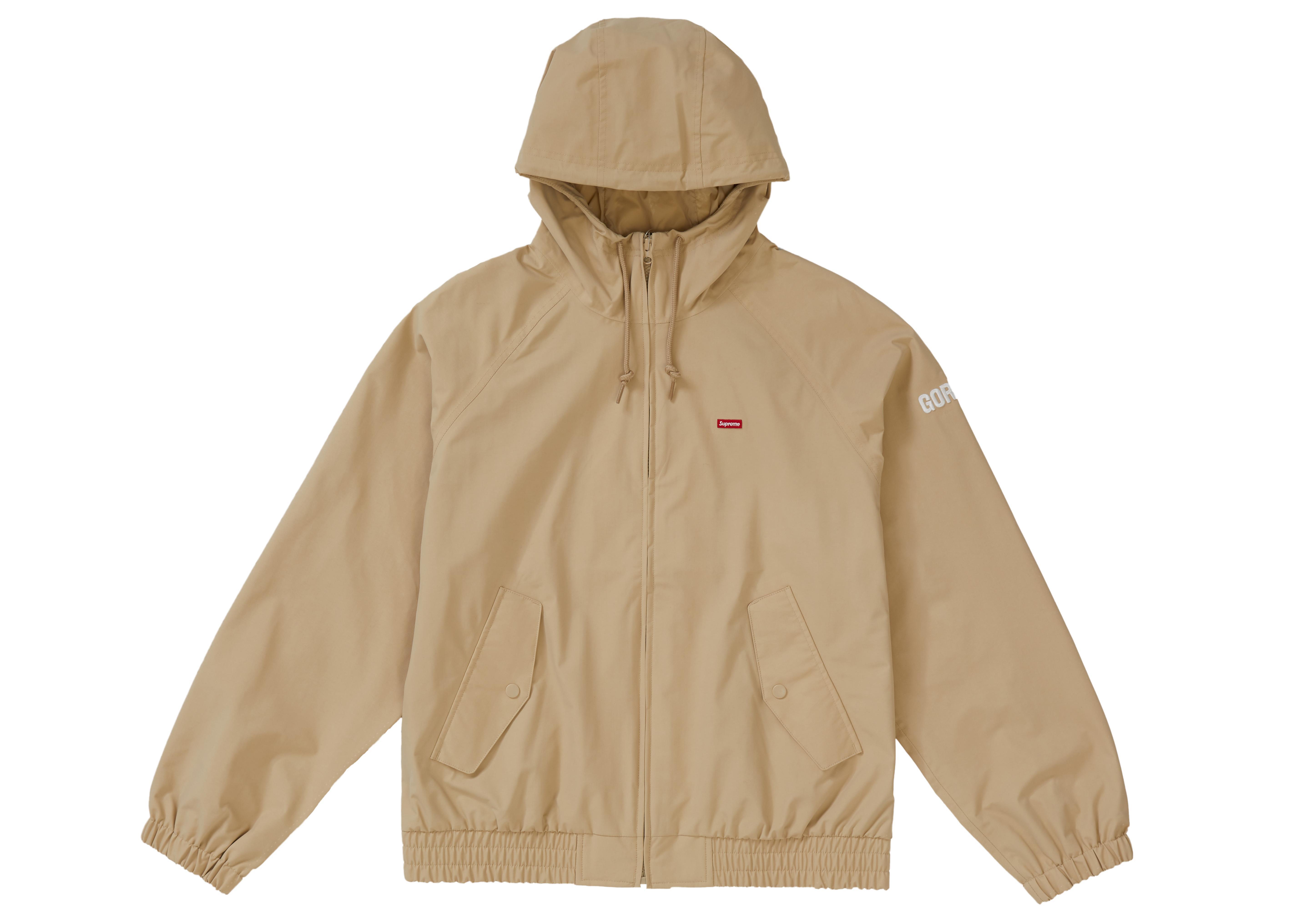 81e42d21 Supreme - Brown Gore-tex Hooded Harrington Jacket Tan for Men - Lyst. View  fullscreen