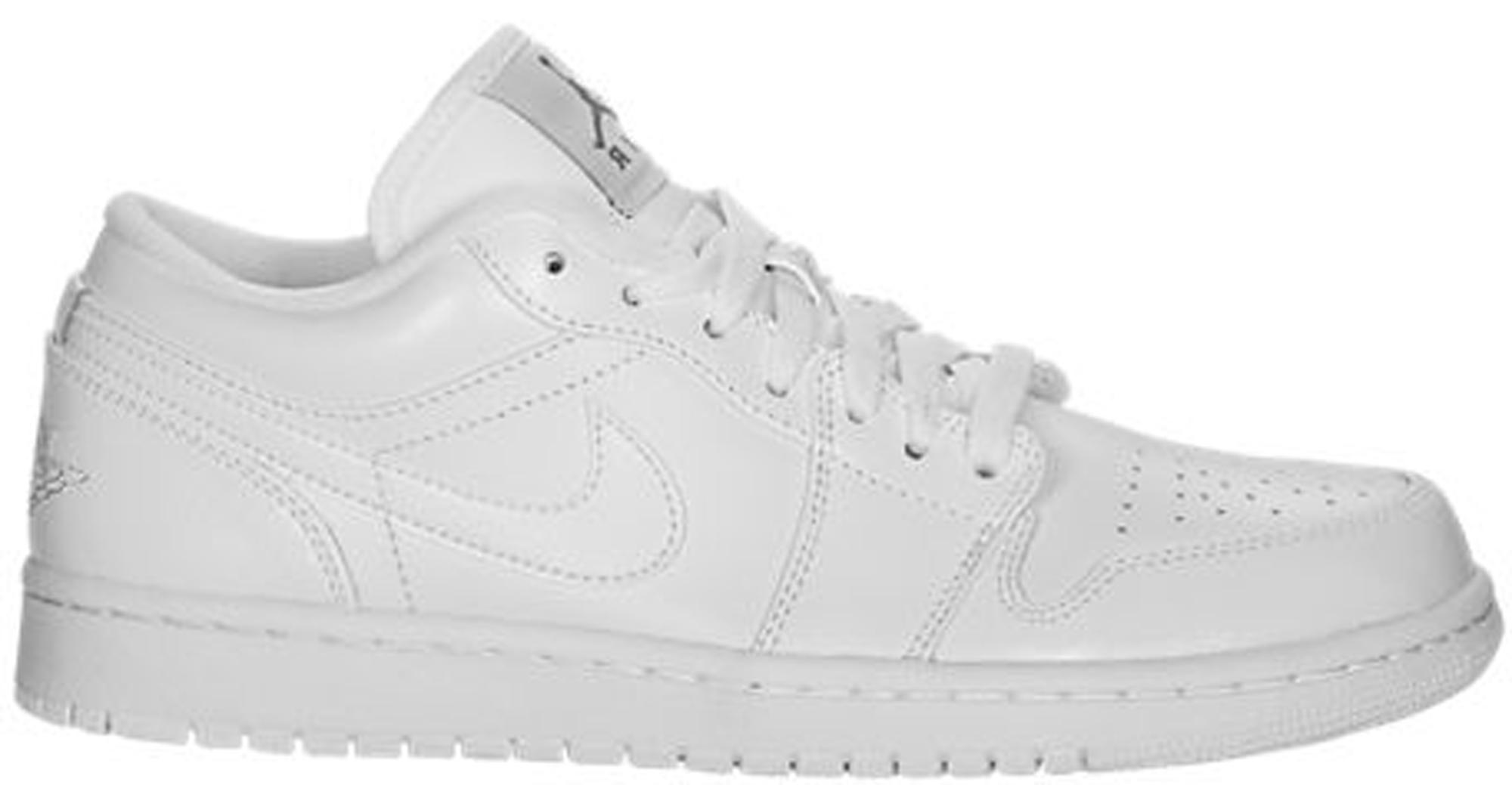 c84e3bcc Lyst - Nike 1 Low Triple White in White for Men