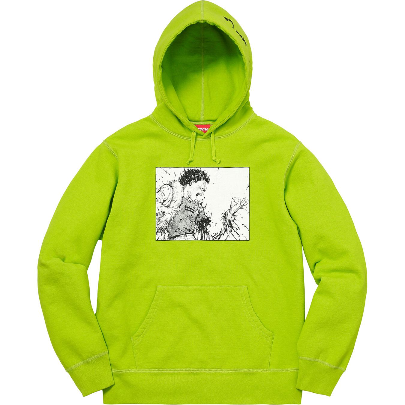 f3f5d274 Supreme Akira Arm Hooded Sweatshirt Lime in Green for Men - Lyst