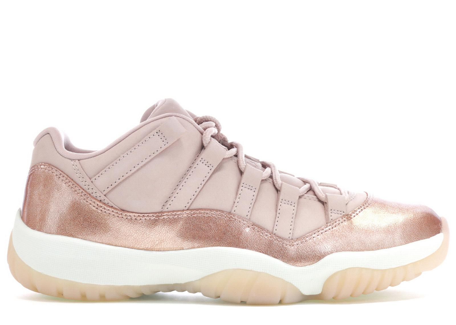 Lyst - Nike 11 Retro Low Rose Gold (w) in Pink b4bc9997c67c