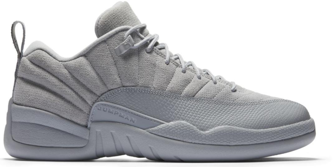 843da1cd Lyst - Nike 12 Retro Low Wolf Grey in Gray for Men
