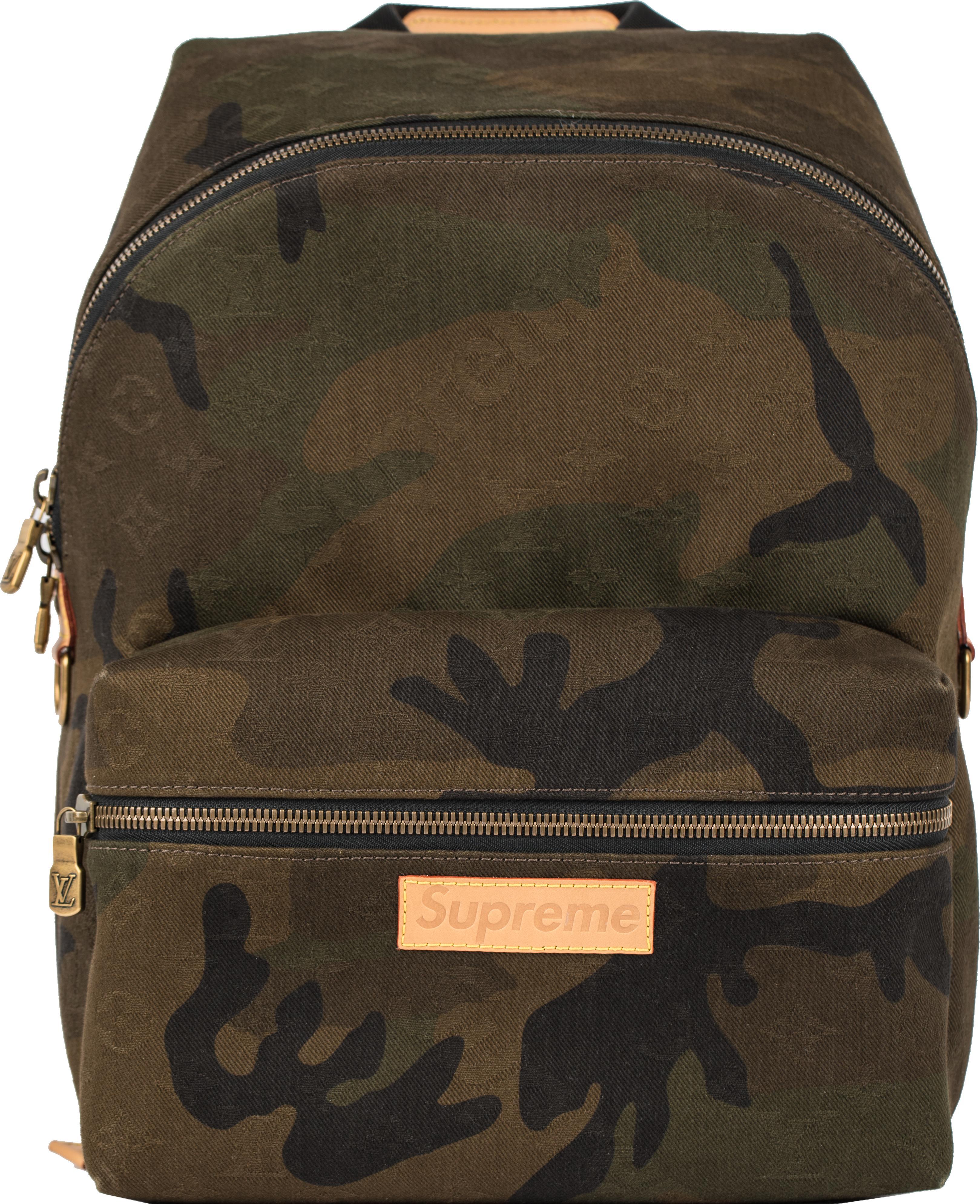 Supreme - Green Louis Vuitton X Apollo Backpack Monogram Camo for Men - Lyst.  View fullscreen 64cb1f4618e41