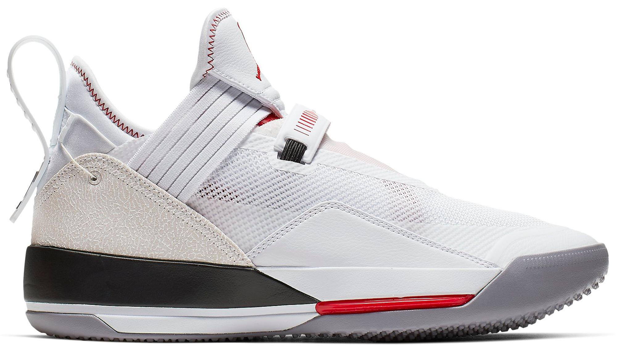 54b2327e Lyst - Nike Xxxiii Se White Gym Red Black in White for Men