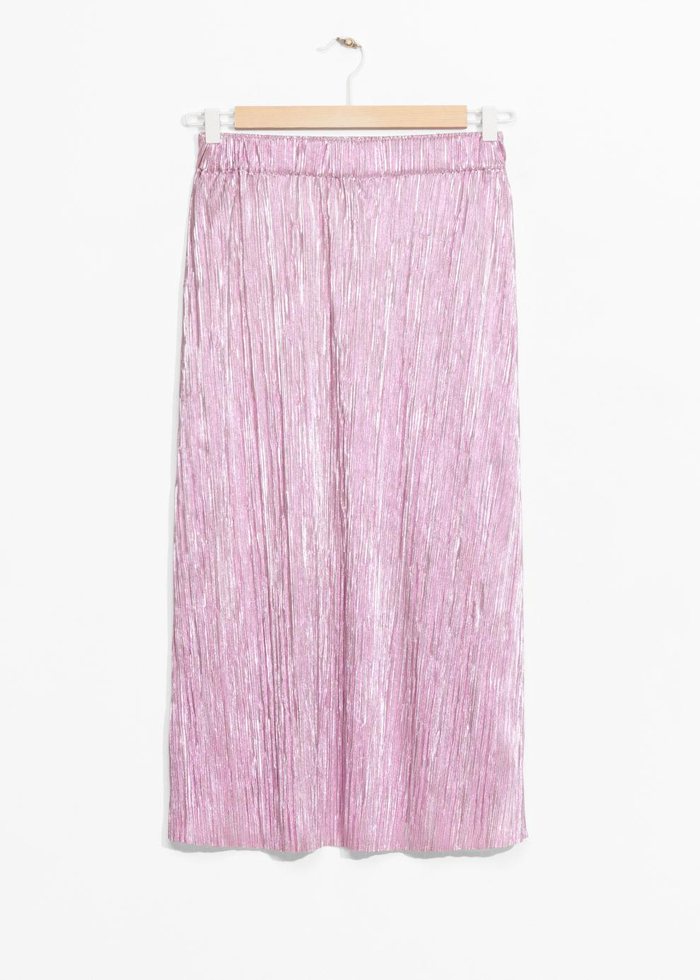 502aba654b Gallery. Previously sold at: & Other Stories · Women's Metallic Skirts