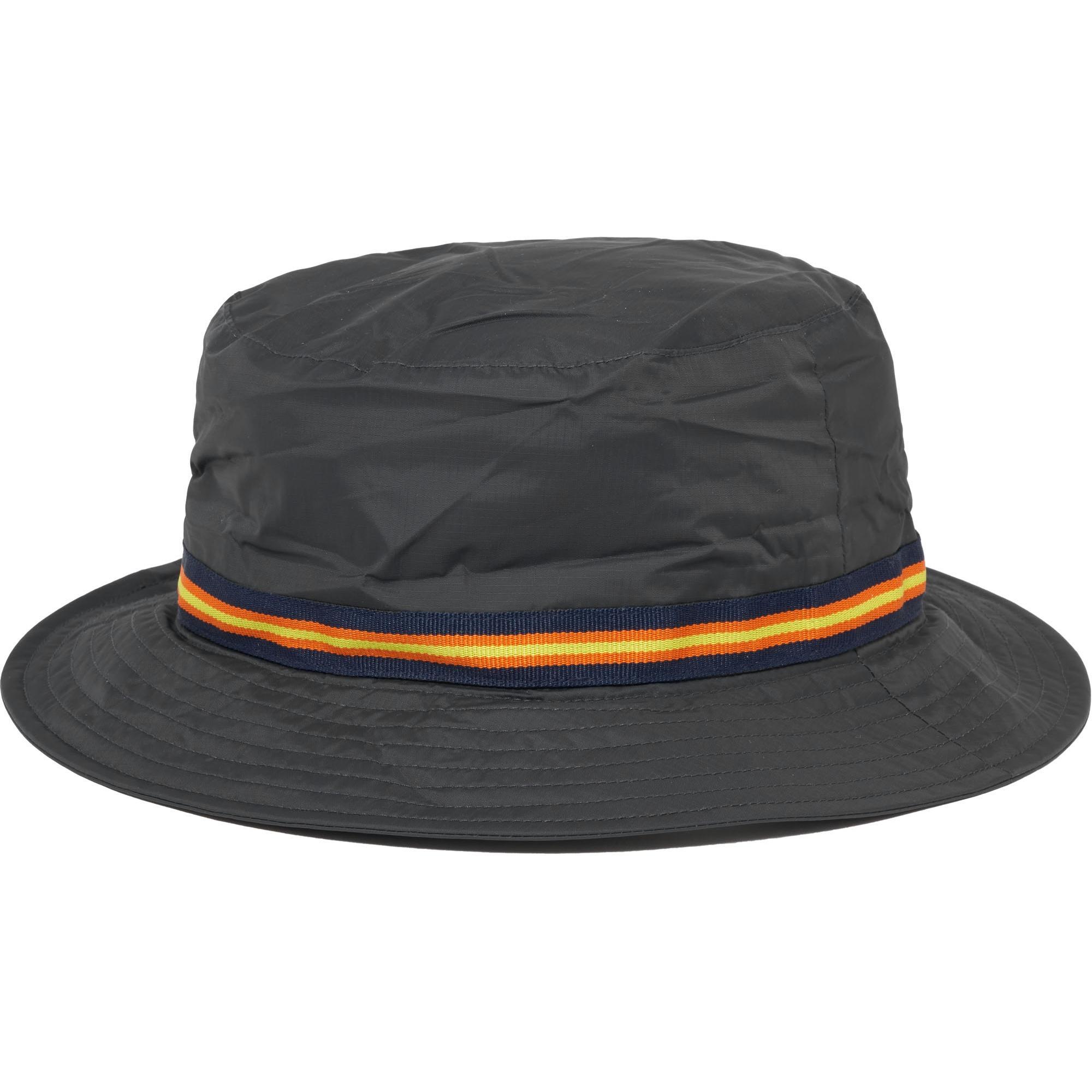 04879a92 K-Way Black Le Vrai Pascal 3.0 Packable Bucket Hat in Black for Men ...