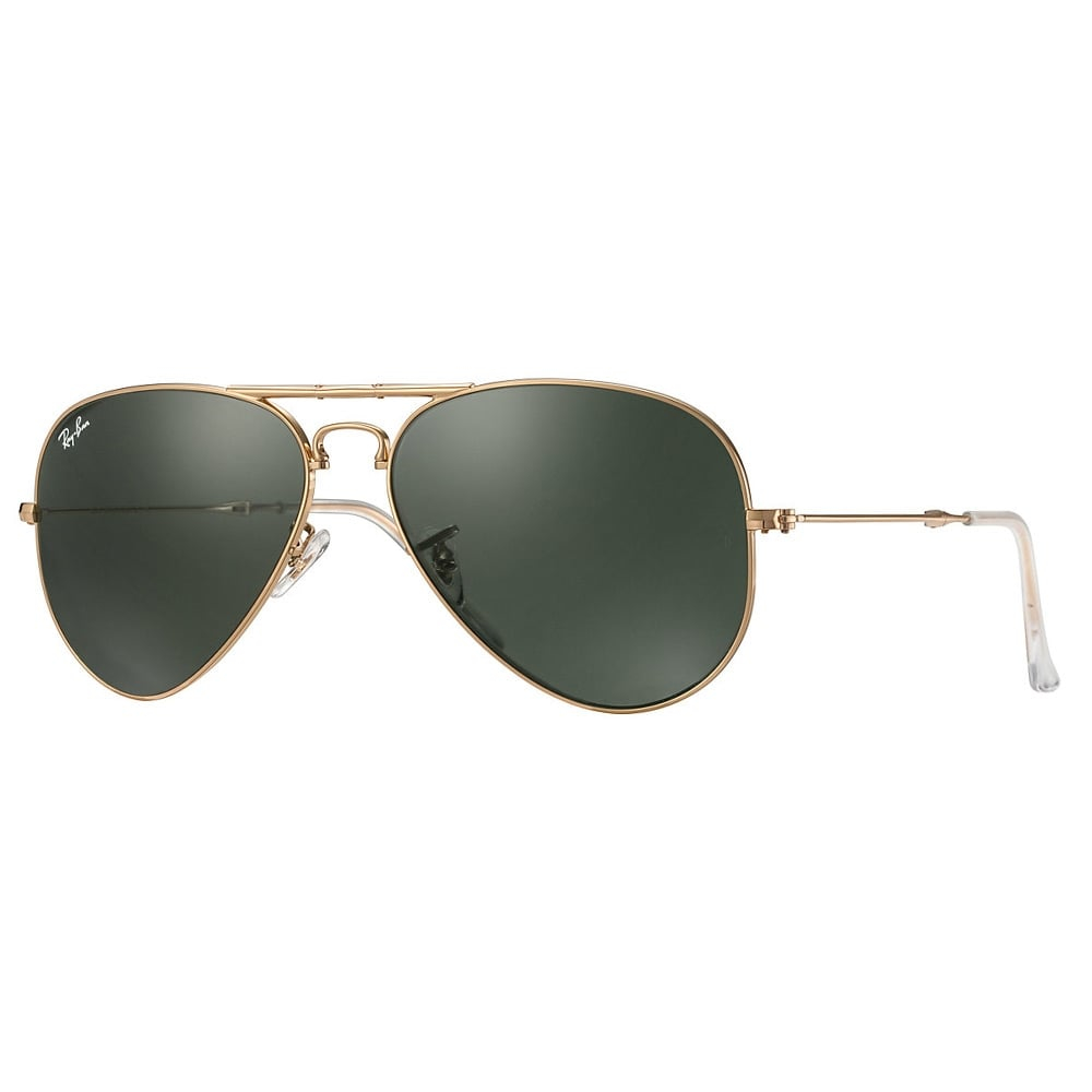 ray ban ray ban aviator folding gold sunglasses rb3479 in. Black Bedroom Furniture Sets. Home Design Ideas