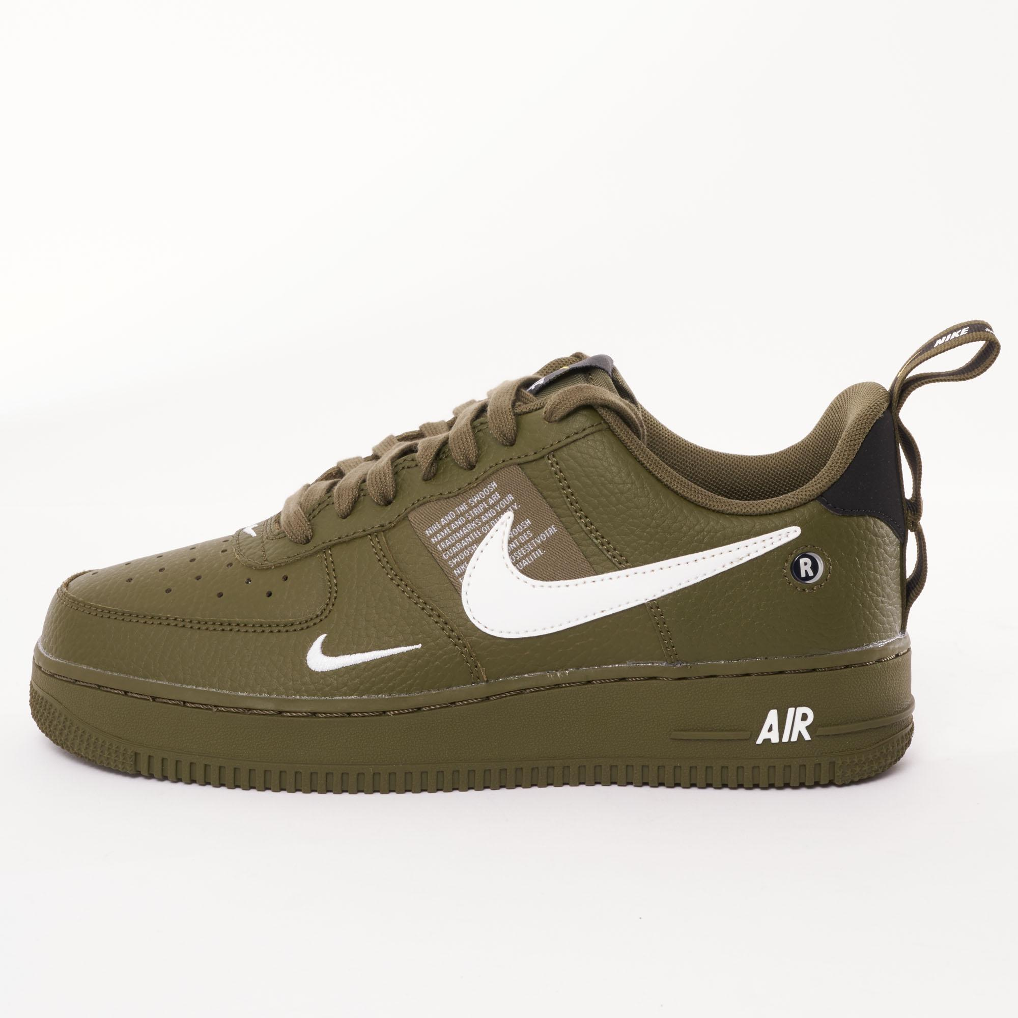 6359b3057a99d Lyst - Nike Air Force 1 Utility Trainers in Green for Men
